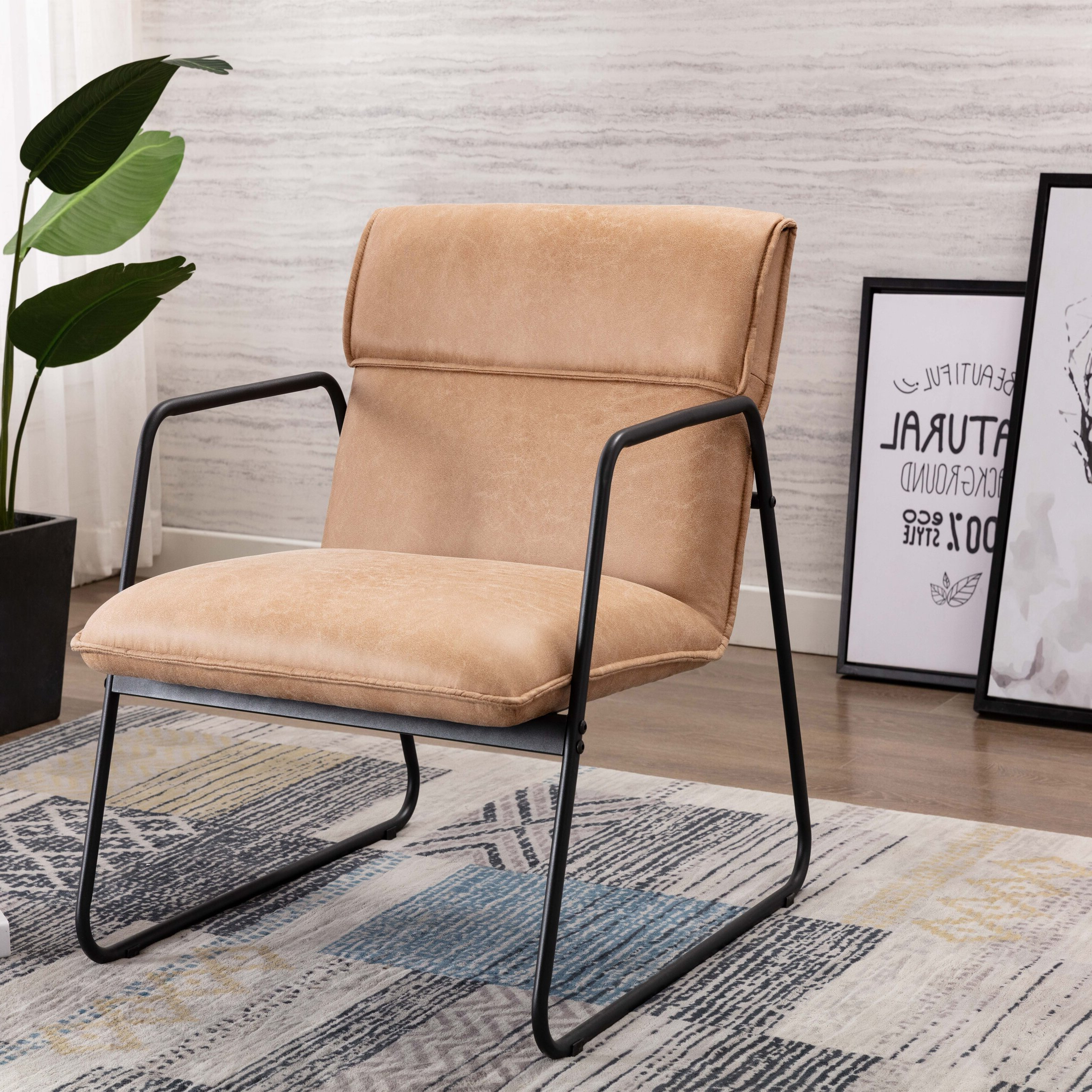 Favorite Broadus Genuine Leather Suede Side Chairs Pertaining To Solorzano (View 18 of 20)