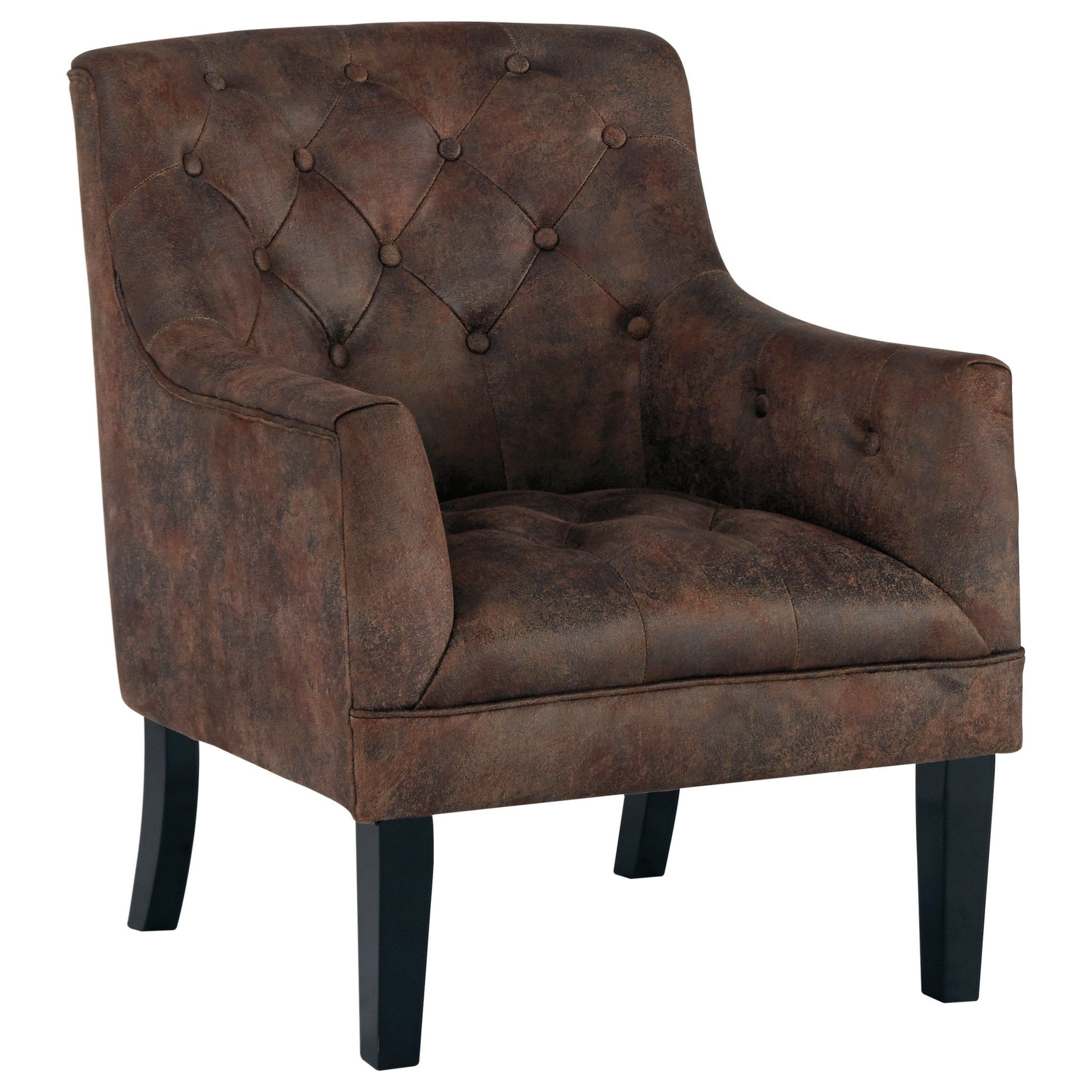 Favorite Drakelle Accent Chairsignature Designashley At Sam Intended For Jill Faux Leather Armchairs (View 14 of 20)