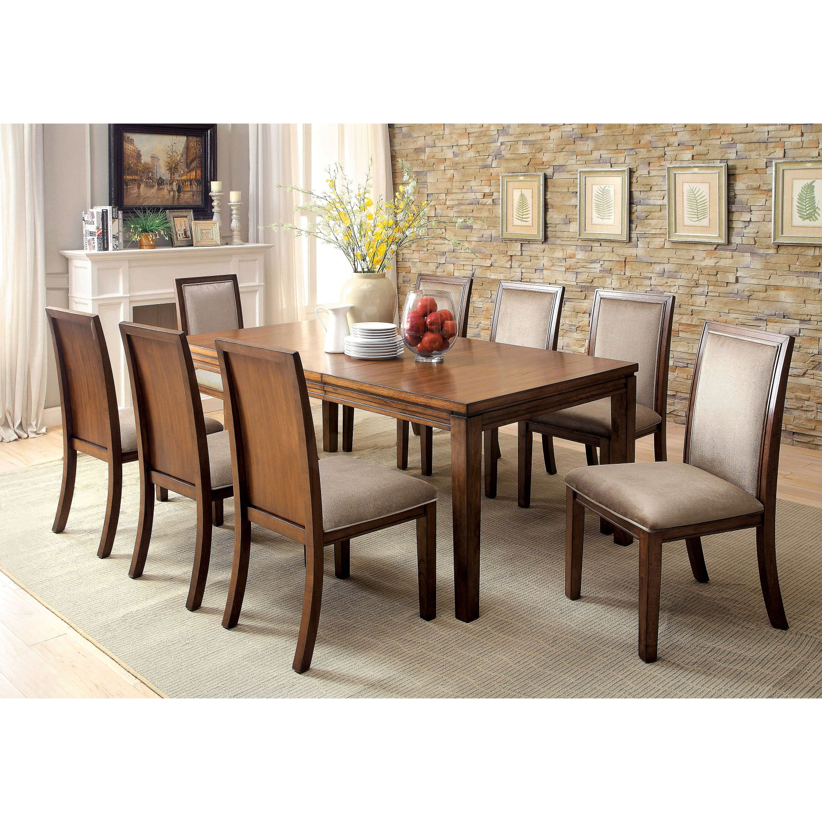 Favorite Furniture Of America Erasmus Dining Chair – Set Of 2 Pertaining To Erasmus Side Chairs (View 17 of 20)