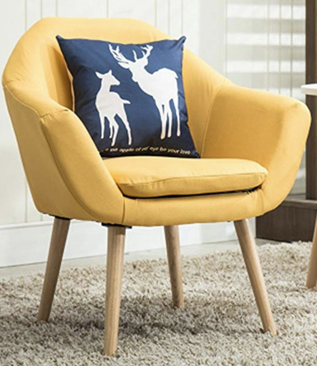 Favorite Giguere Barrel Chairs Intended For 6 Mustard Yellow Accent Chairs For Stylish Homes – Cute (View 3 of 20)