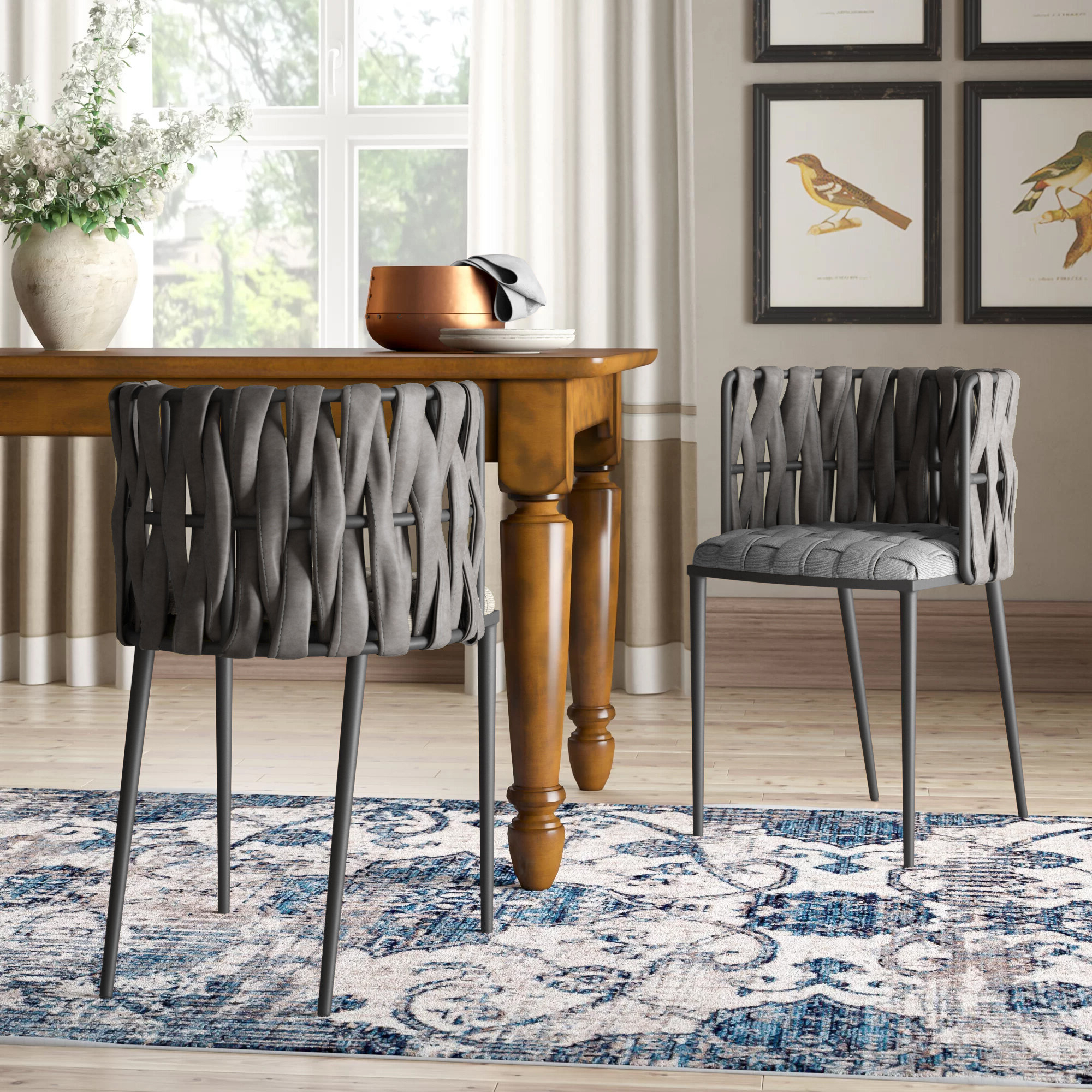 Filton Barrel Chairs Within Recent Cassie Upholstered Dining Chair (View 19 of 20)