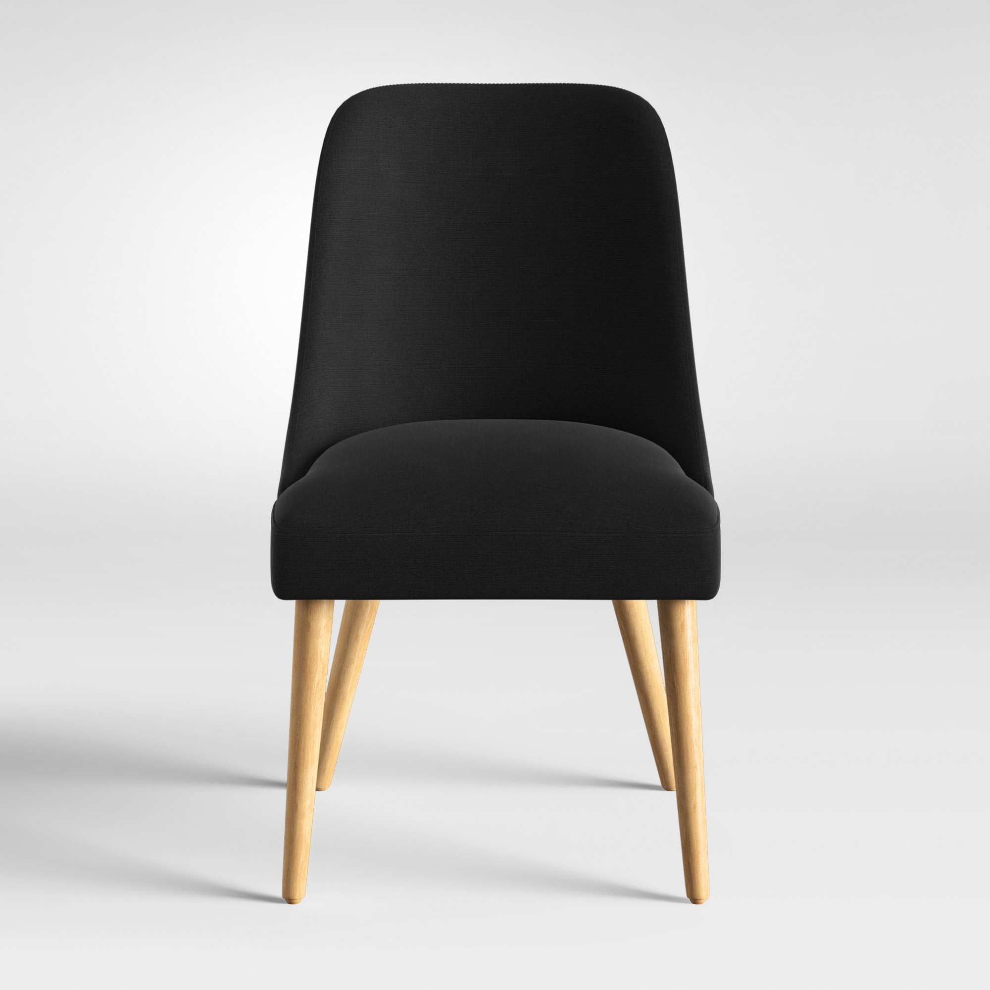 Geller Modern Dining Chair Black – Project 62™ (View 18 of 20)