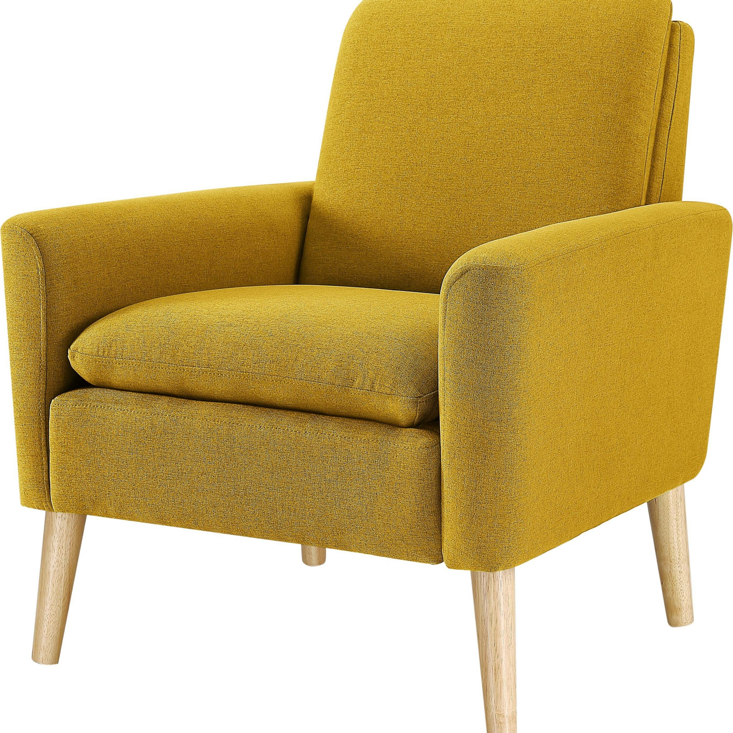 """George 30"""" W Linen Blend Armchair For Preferred Hiltz Armchairs (View 3 of 20)"""