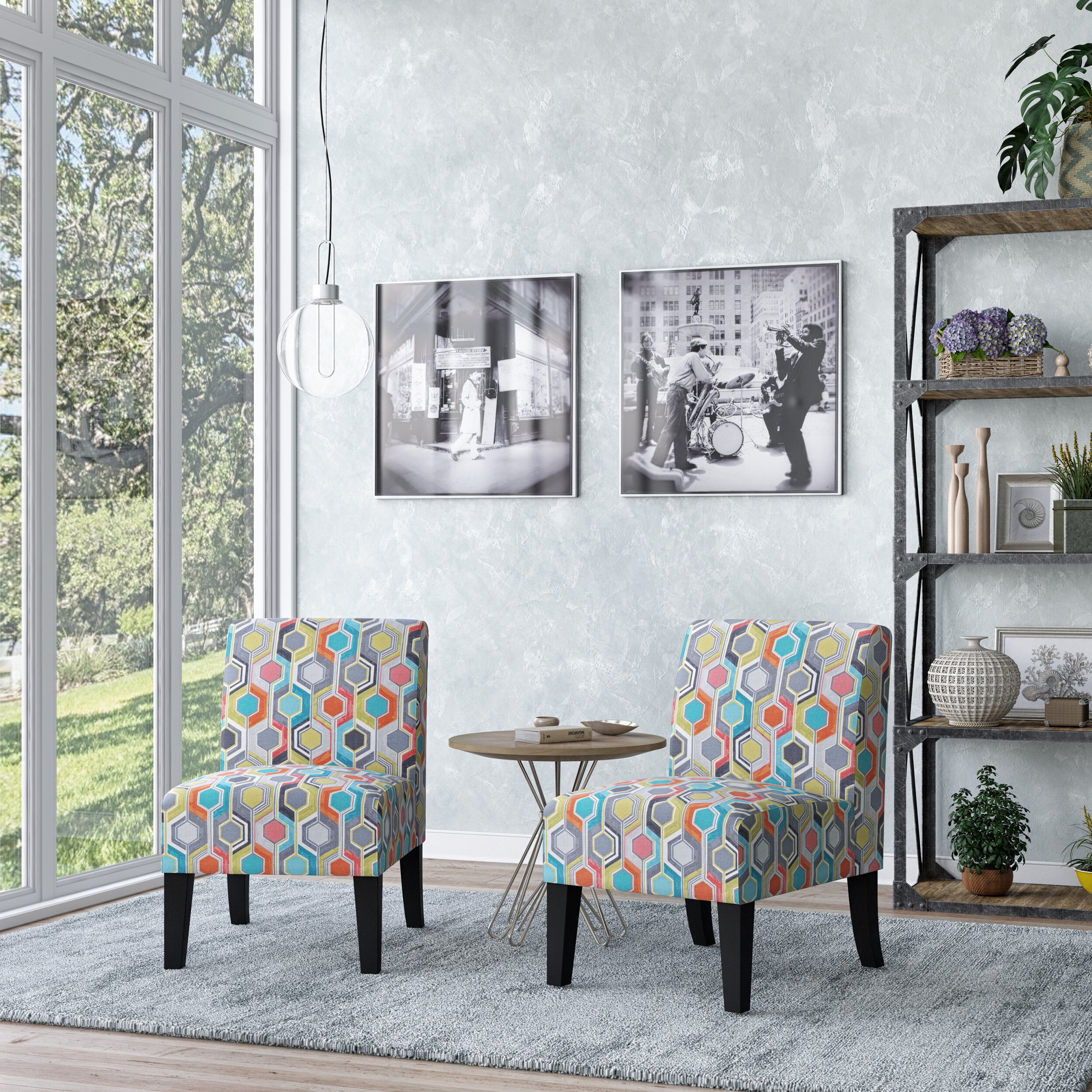 Goodspeed Slipper Chairs (set Of 2) With Popular Modern & Contemporary Slipper Accent Chairs You'll Love In (View 9 of 20)