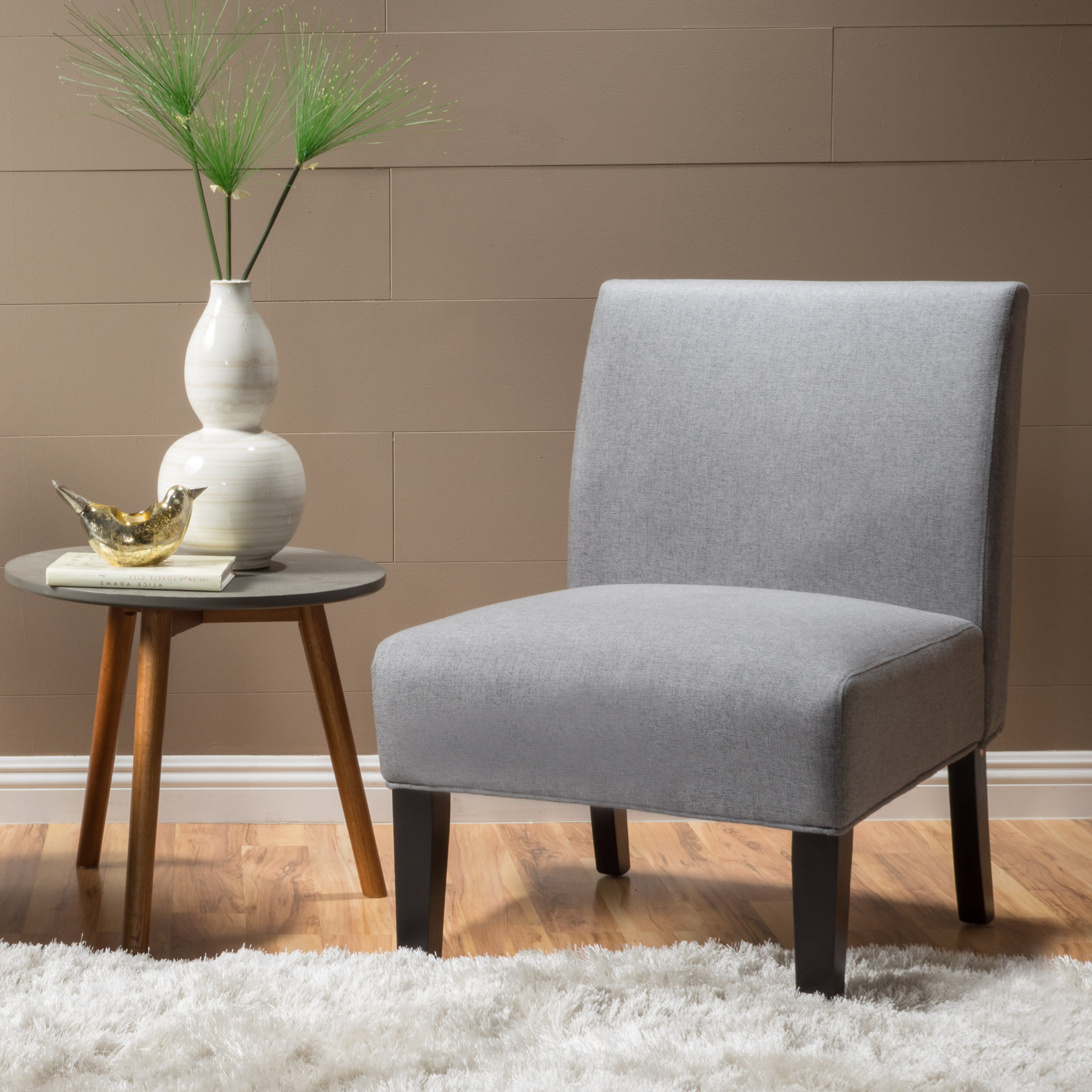 Grey Slipper Accent Chairs You'll Love In (View 8 of 20)