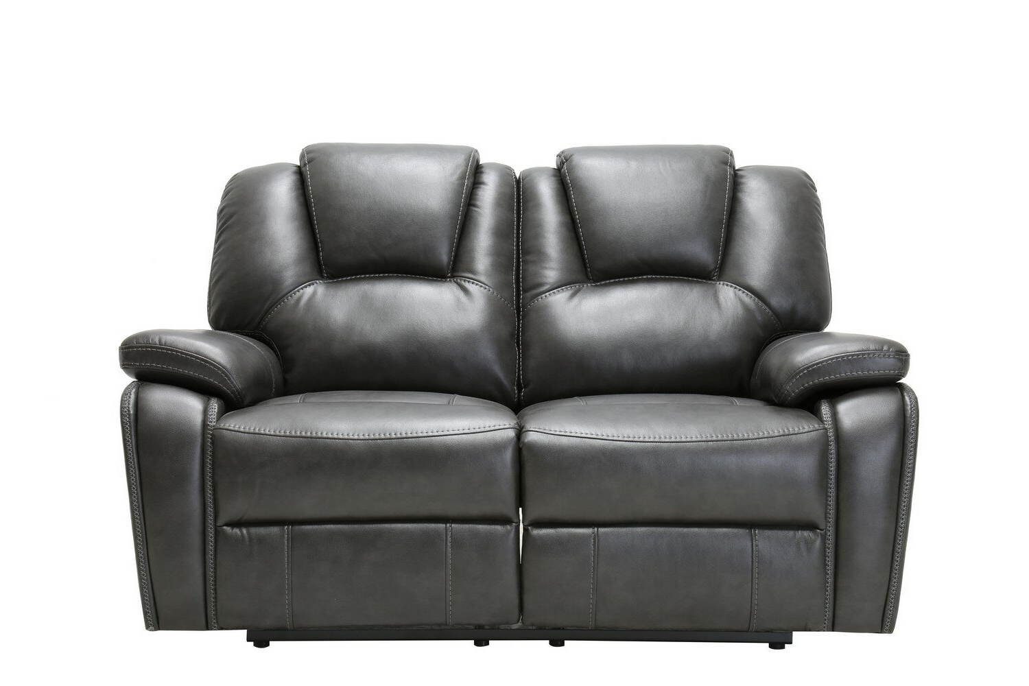 """Hallsville Performance Velvet Armchairs And Ottoman Throughout Popular Demri Reclining 62"""" Pillow Top Arms Loveseat (View 9 of 20)"""