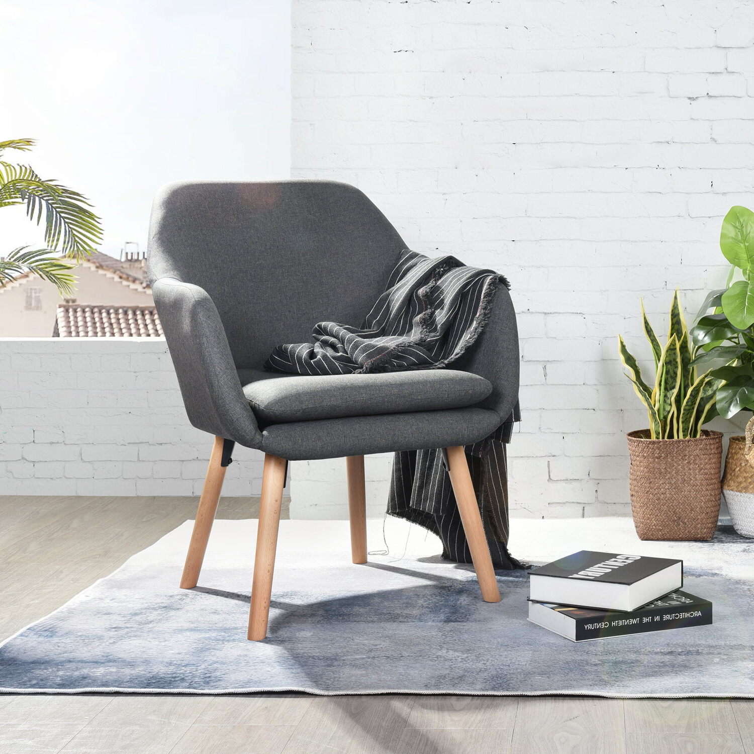 Hanner Polyester Armchairs In Latest Kenmore (View 7 of 20)
