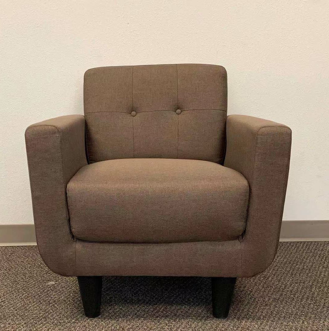 Hanner Polyester Armchairs Pertaining To 2020 Motes Armchair (View 19 of 20)