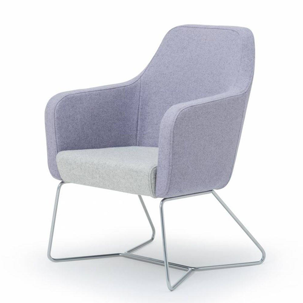 Harc Tub Lounge Chair – The Contact Chair Company Throughout Well Known Dorcaster Barrel Chairs (View 13 of 20)