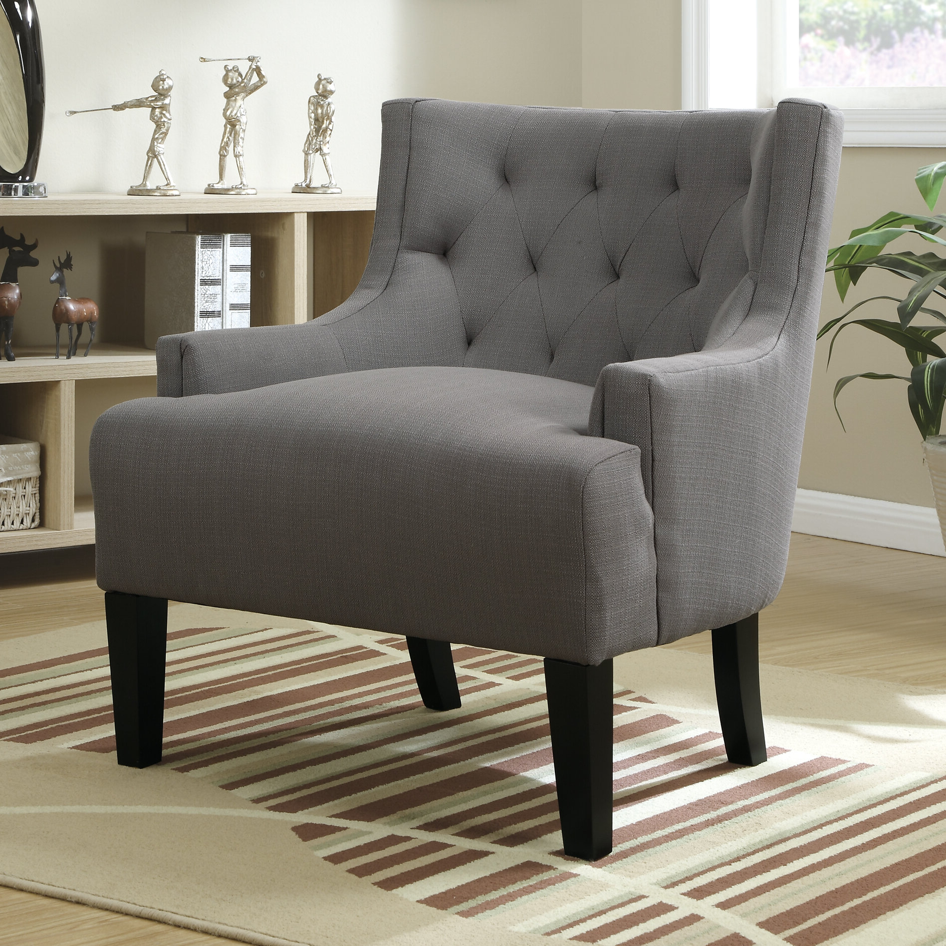 Hemphill Wingback Chair For Well Known Andover Wingback Chairs (View 9 of 20)