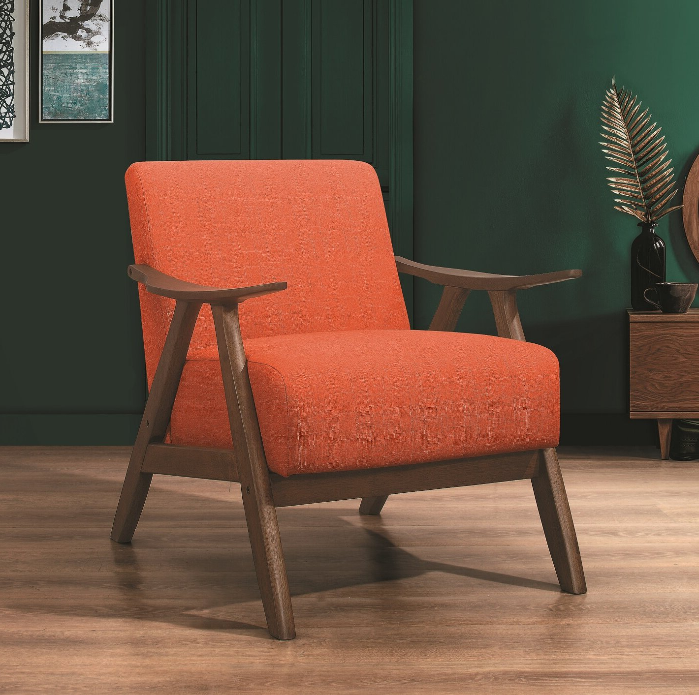 Hofstetter Armchairs With Most Popular Orange & Yellow Accent Chairs You'll Love In (View 6 of 20)