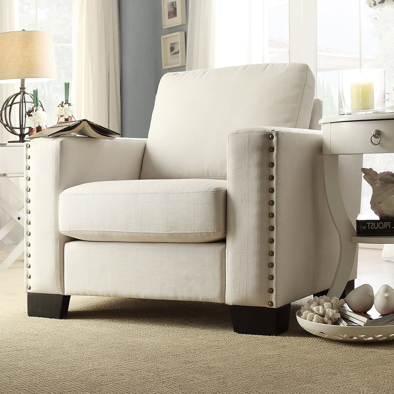 Homevance Caldwell Arm Chair #caldwell, #homevance, #chair Throughout Most Popular Caldwell Armchairs (View 3 of 20)