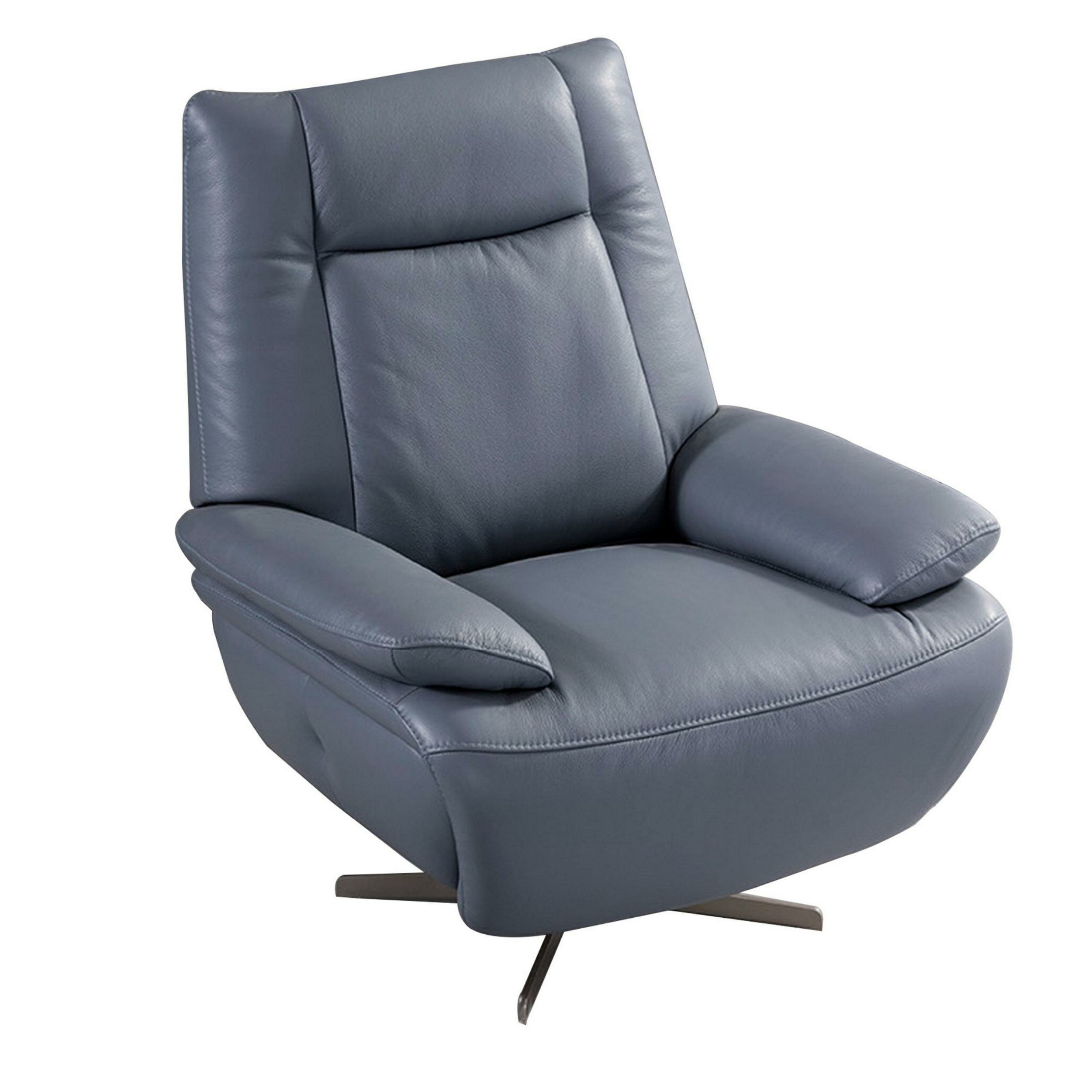 """Jarin Faux Leather Armchairs In Preferred Avy 35"""" W Faux Leather Armchair (View 8 of 20)"""