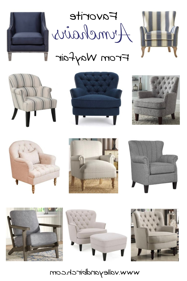 Jayde Armchairs Regarding Most Popular Favourite Armchairs From Wayfair – Valley + Birch (View 7 of 20)