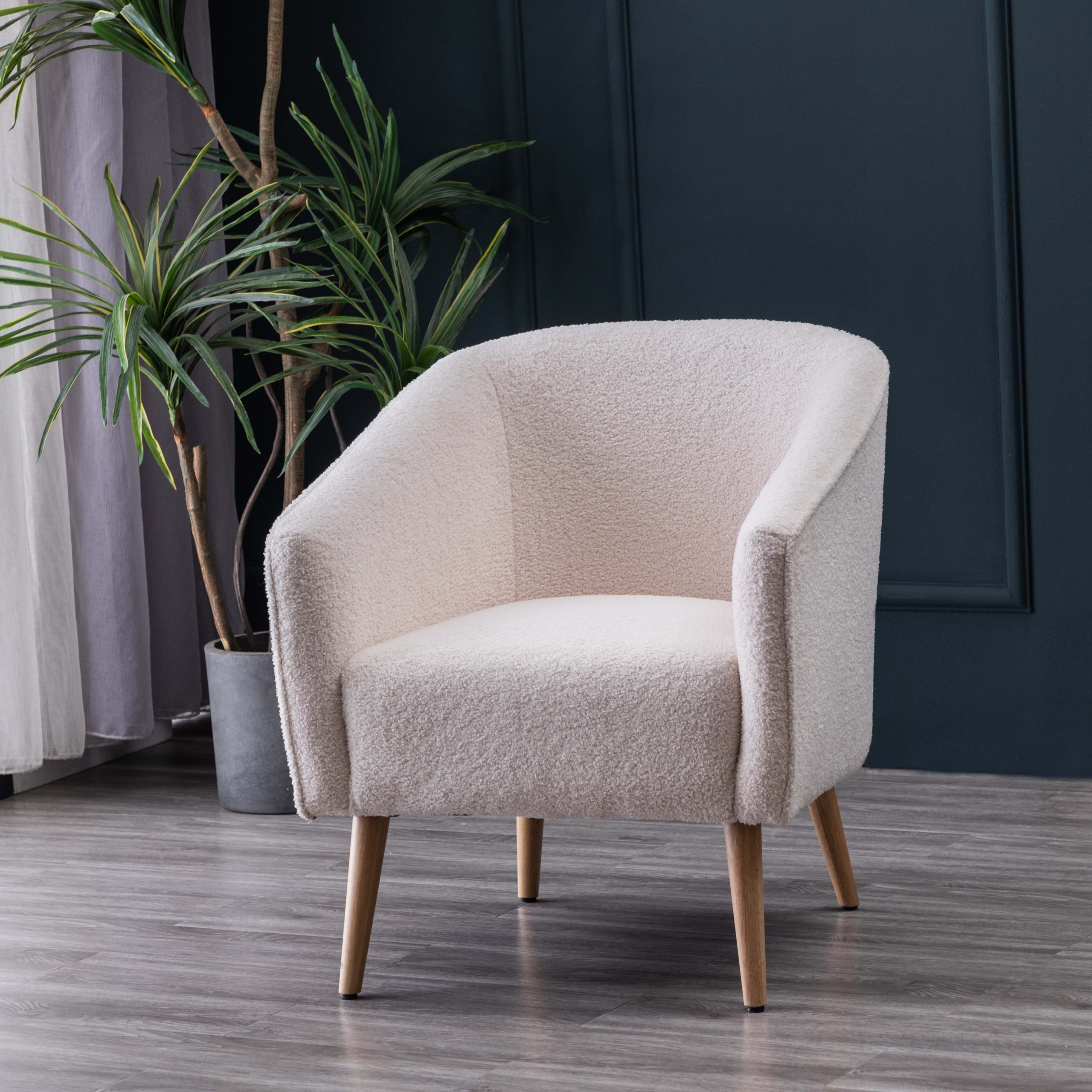 Joss & Main Schooley Faux Shearling Barrel Chair & Reviews With Regard To Current Danow Polyester Barrel Chairs (View 8 of 20)