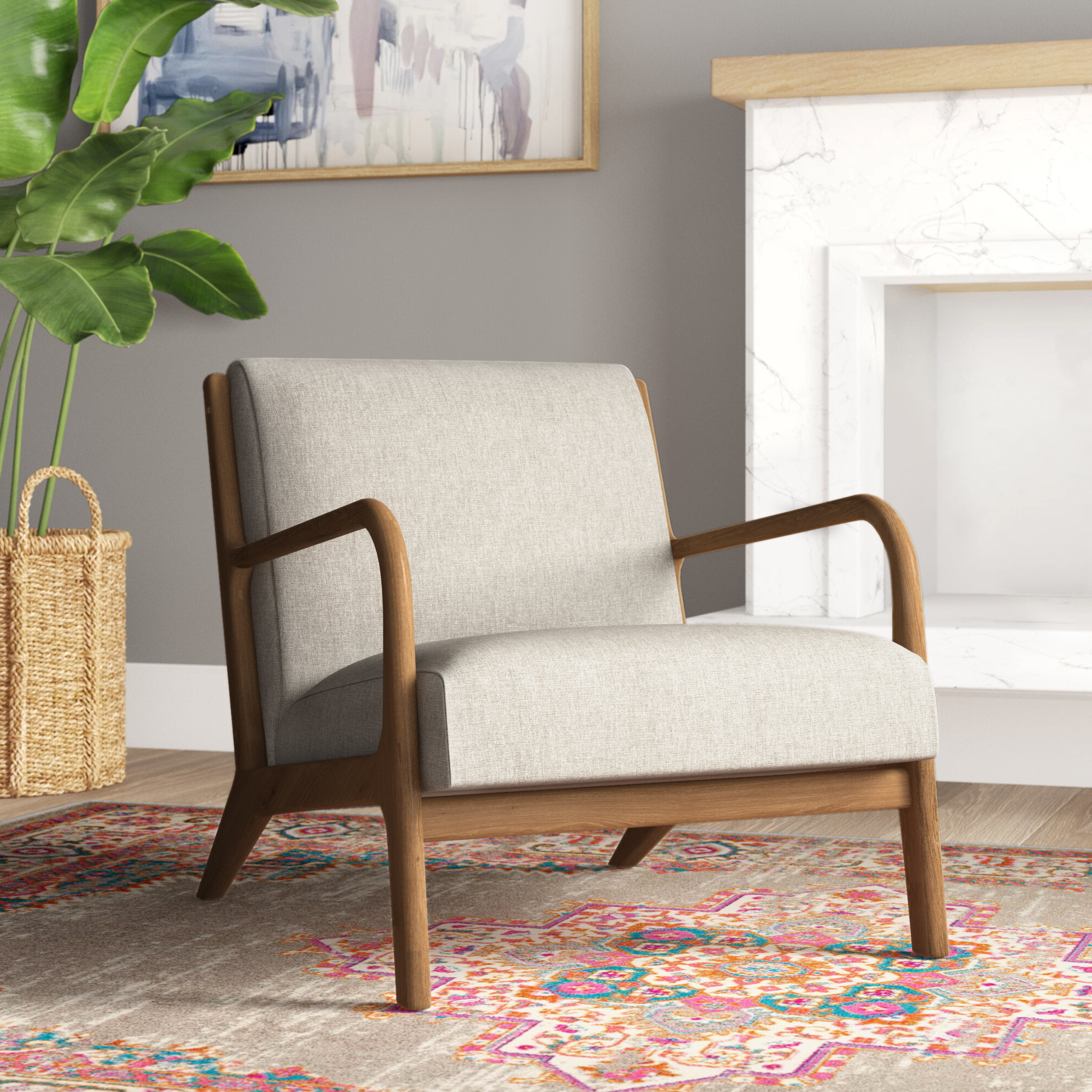 Kasha Armchairs For Latest Ashbourne Armchair & Reviews (View 11 of 20)