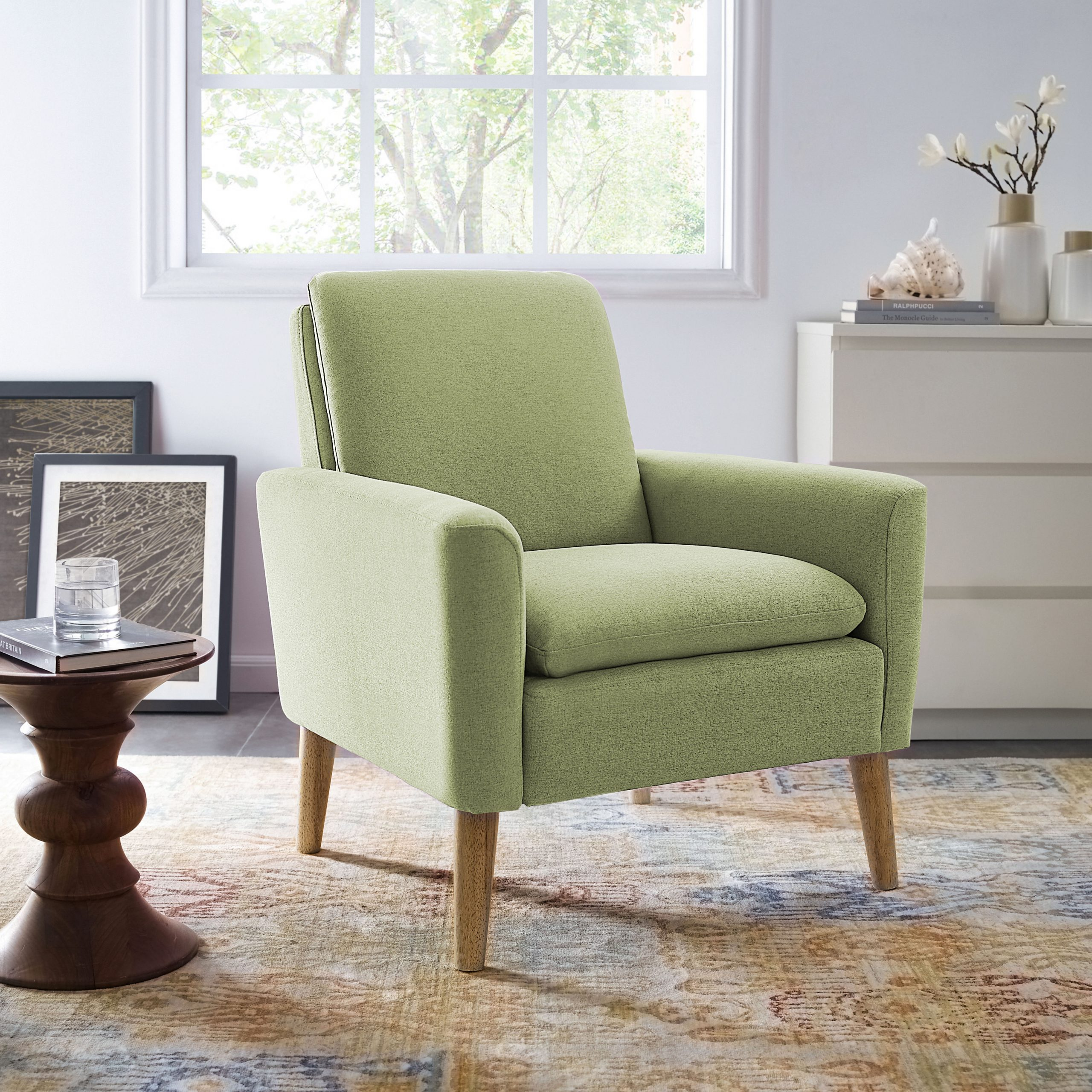 Kenley Armchair With Regard To Famous Hiltz Armchairs (View 7 of 20)