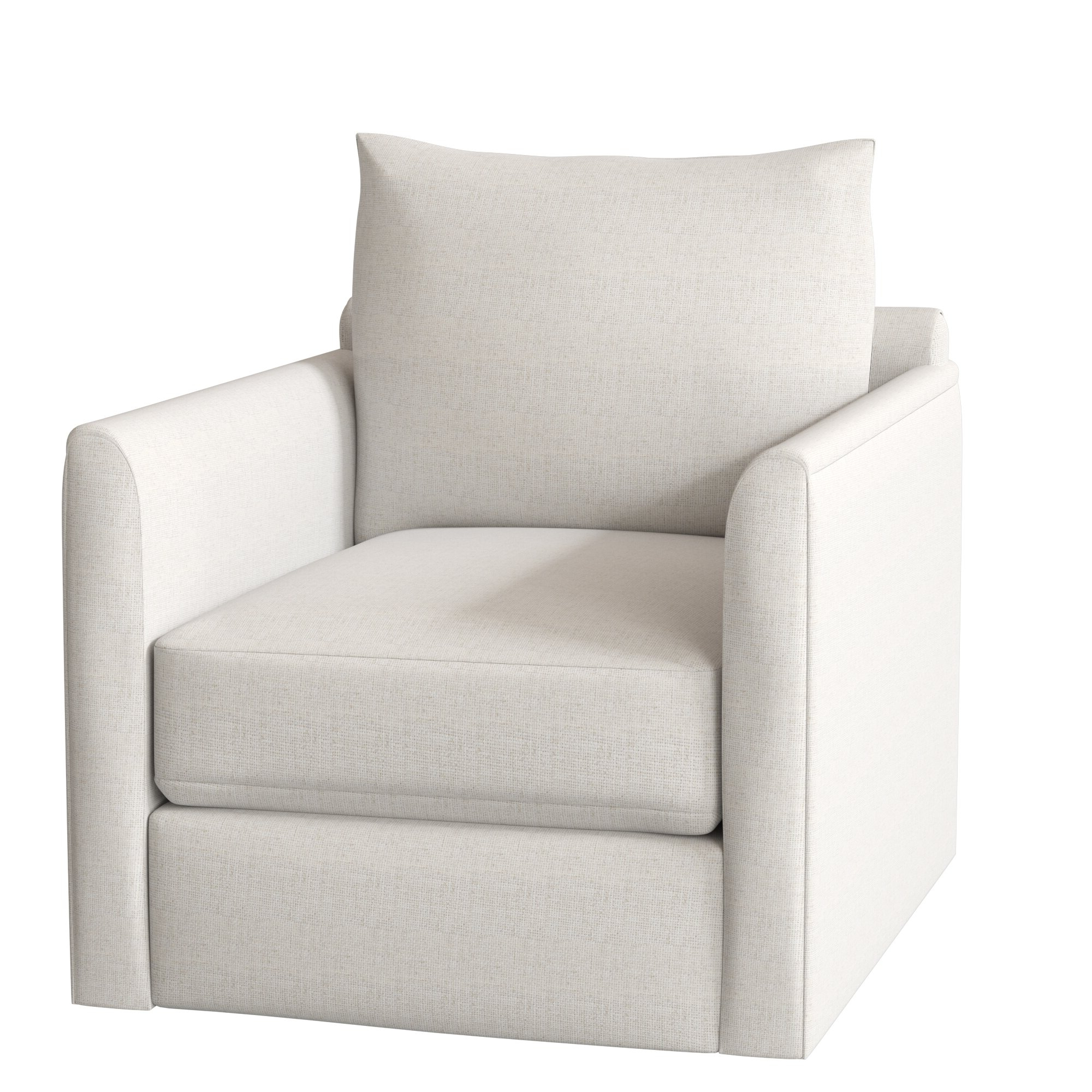 Kira Swivel Armchair Throughout Trendy Ronald Polyester Blend Armchairs (View 18 of 20)