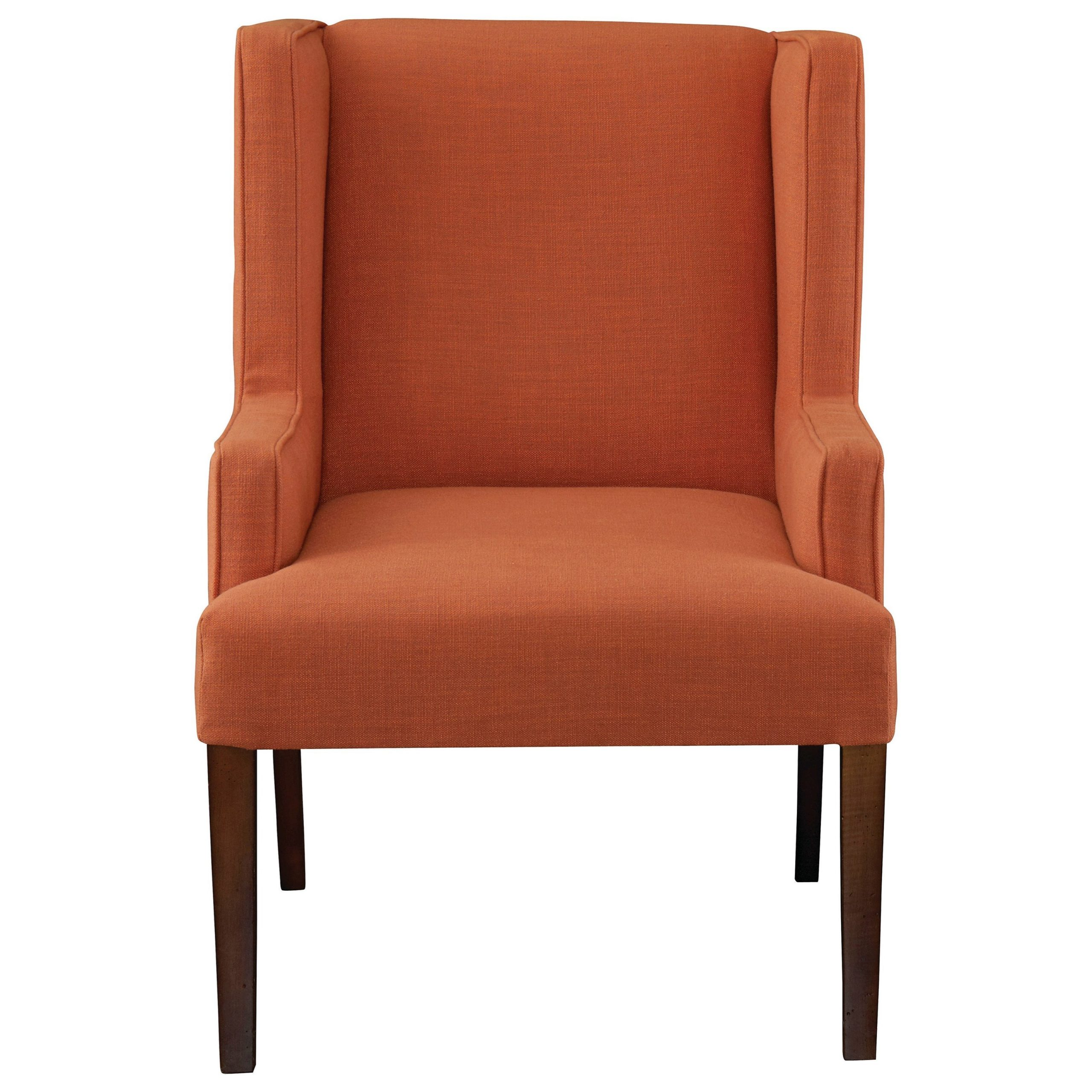 Latest Bassett Albert 1072 02 Transitional Winged Arm Chair With Intended For Lakeville Armchairs (View 14 of 20)