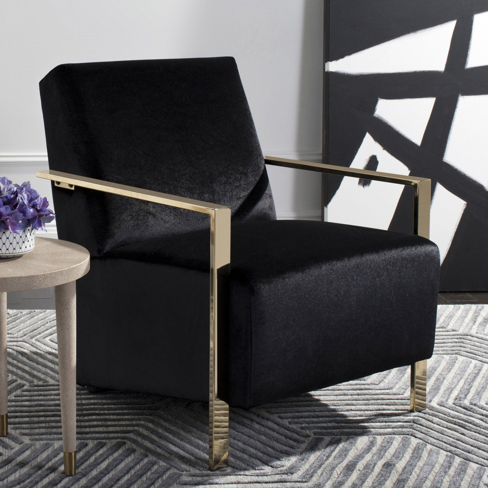 Latest Black Accent Chairs (View 16 of 20)