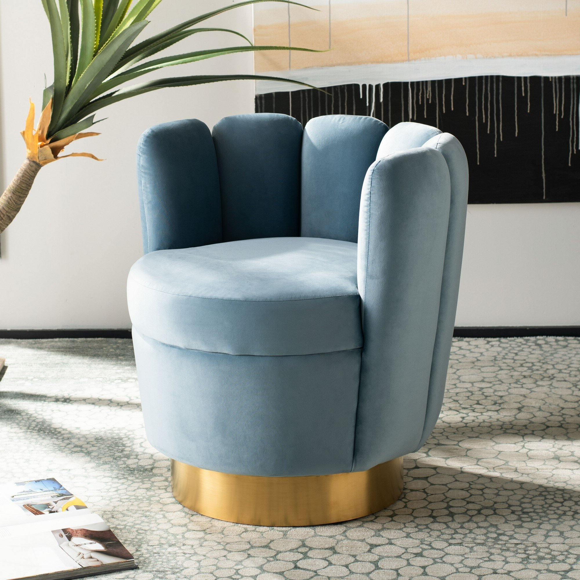 Latest Bronaugh Barrel Chairs Within Skye Barrel Chair (View 6 of 20)