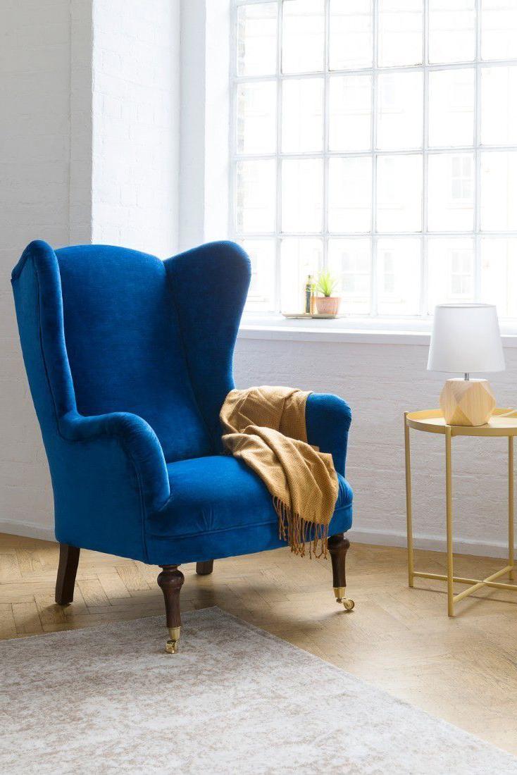 Latest Interaction Design #armchair Blue Armchair, Cozy Armchair For Live It Cozy Armchairs (View 2 of 20)