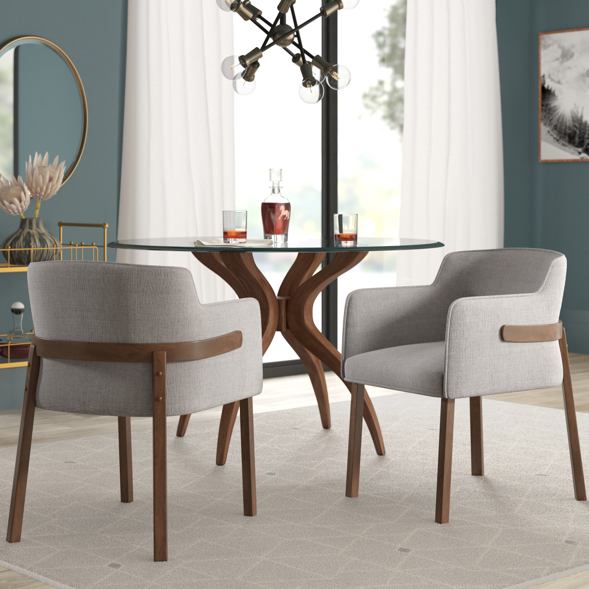 Latest Kasha Armchairs With Mukai Upholstered Arm Chair (View 15 of 20)