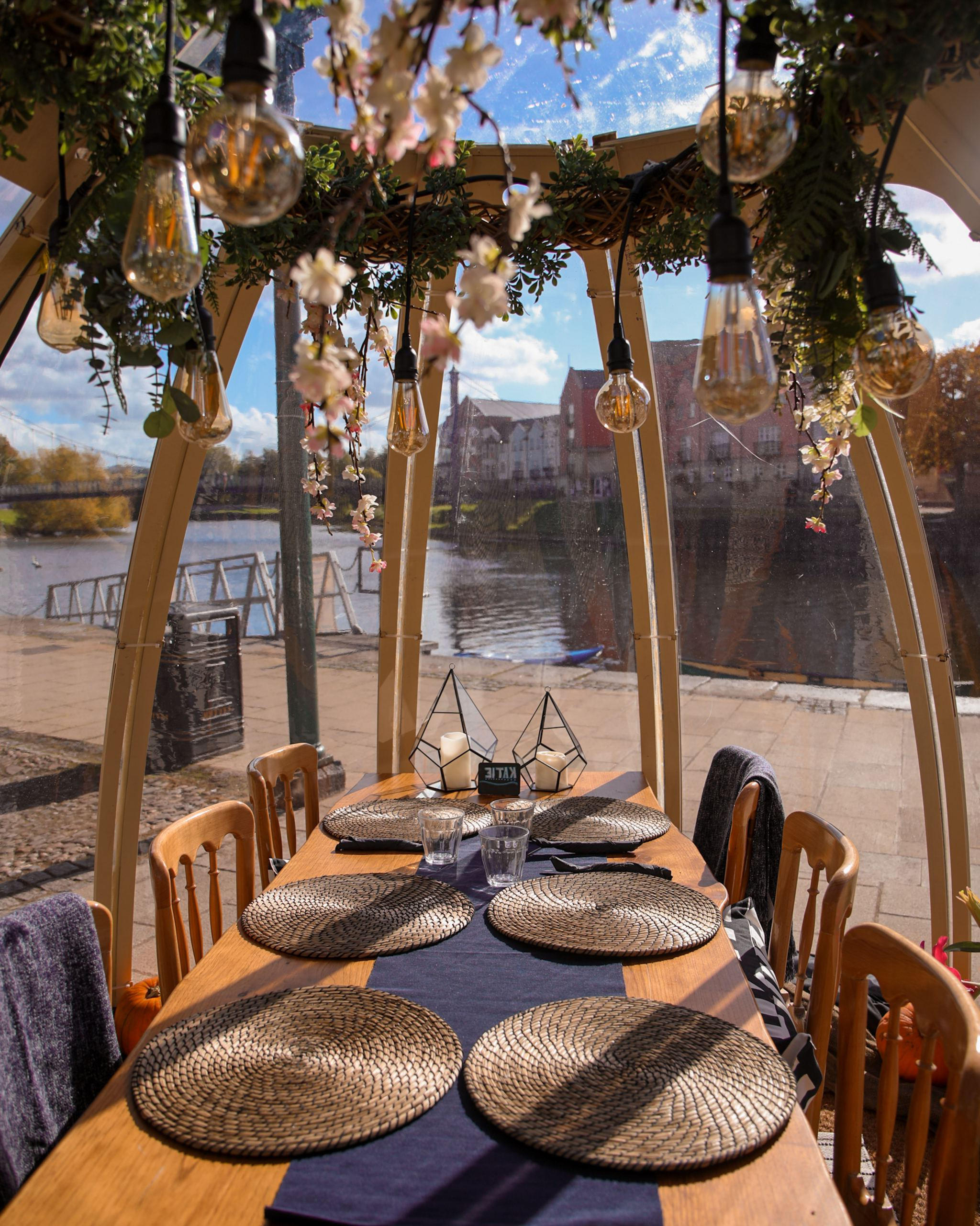 Latest Lunch At The Mango's Dining Pod On The Quay, Exeter – Kalanchoe With Exeter Side Chairs (View 20 of 20)