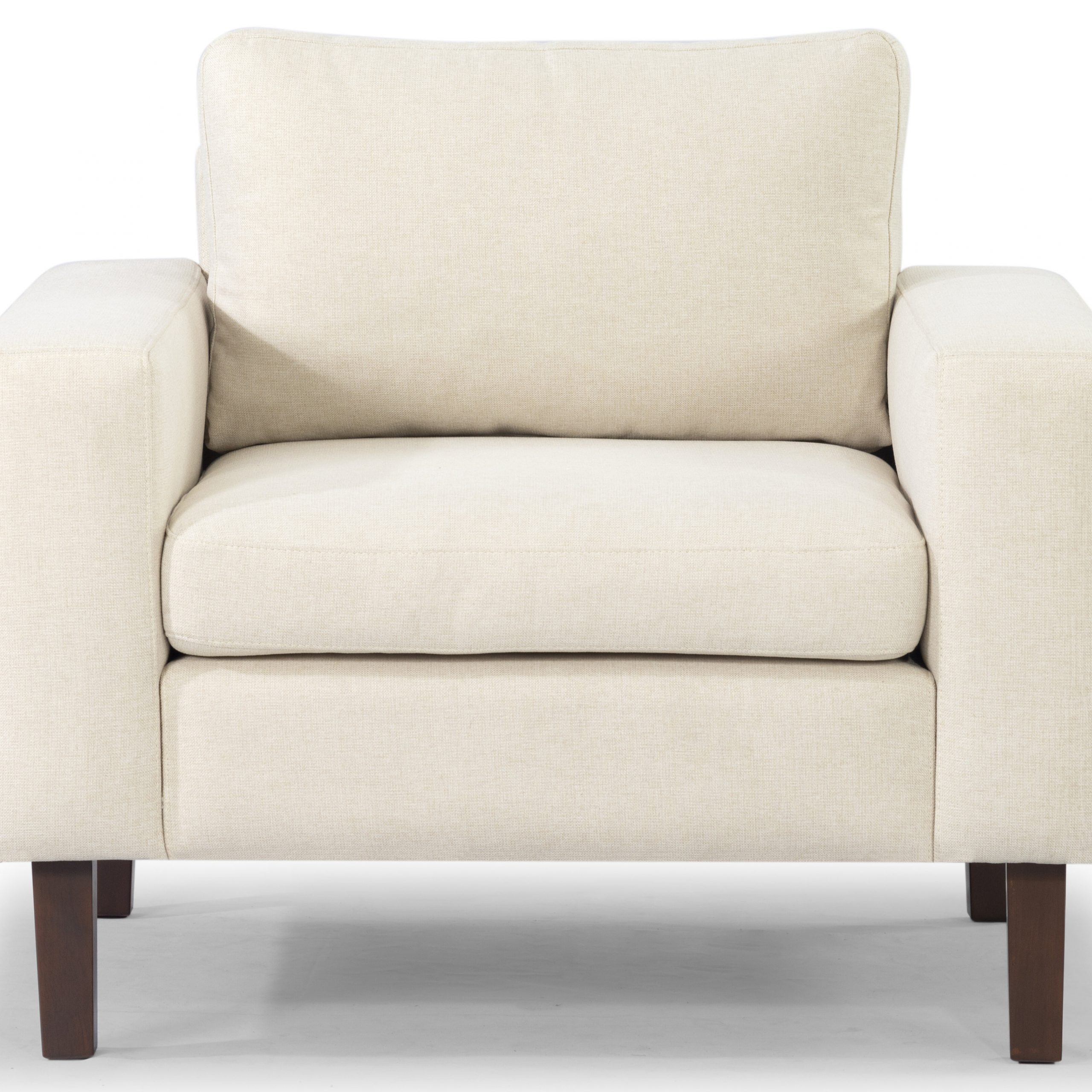 "Leia Polyester Armchairs For Popular Azekiel 34"" W Polyester Blend Armchair (View 9 of 20)"