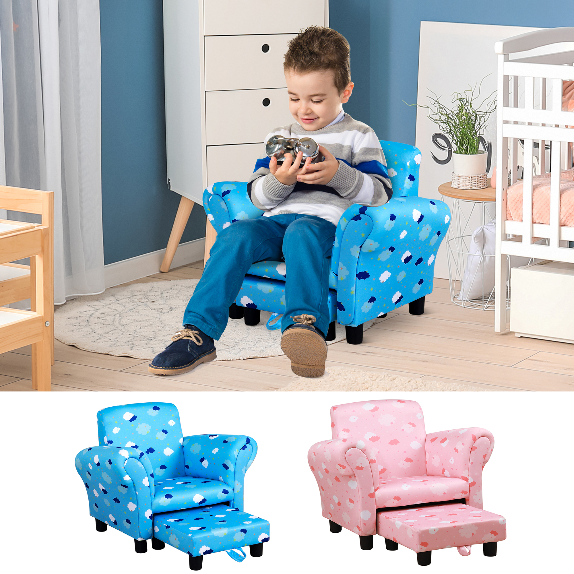 Leia Polyester Armchairs Intended For Latest Details About Children Kids Mini Sofa Armchair Polyester Very Comfortable Sweet Lovely And (View 20 of 20)