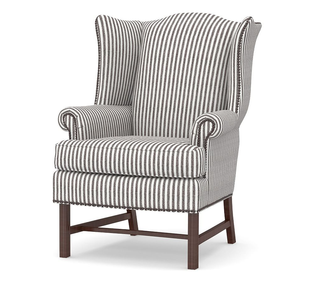 Leia Polyester Armchairs Throughout Favorite Thatcher Upholstered Armchair, Polyester Wrapped Cushions (View 5 of 20)