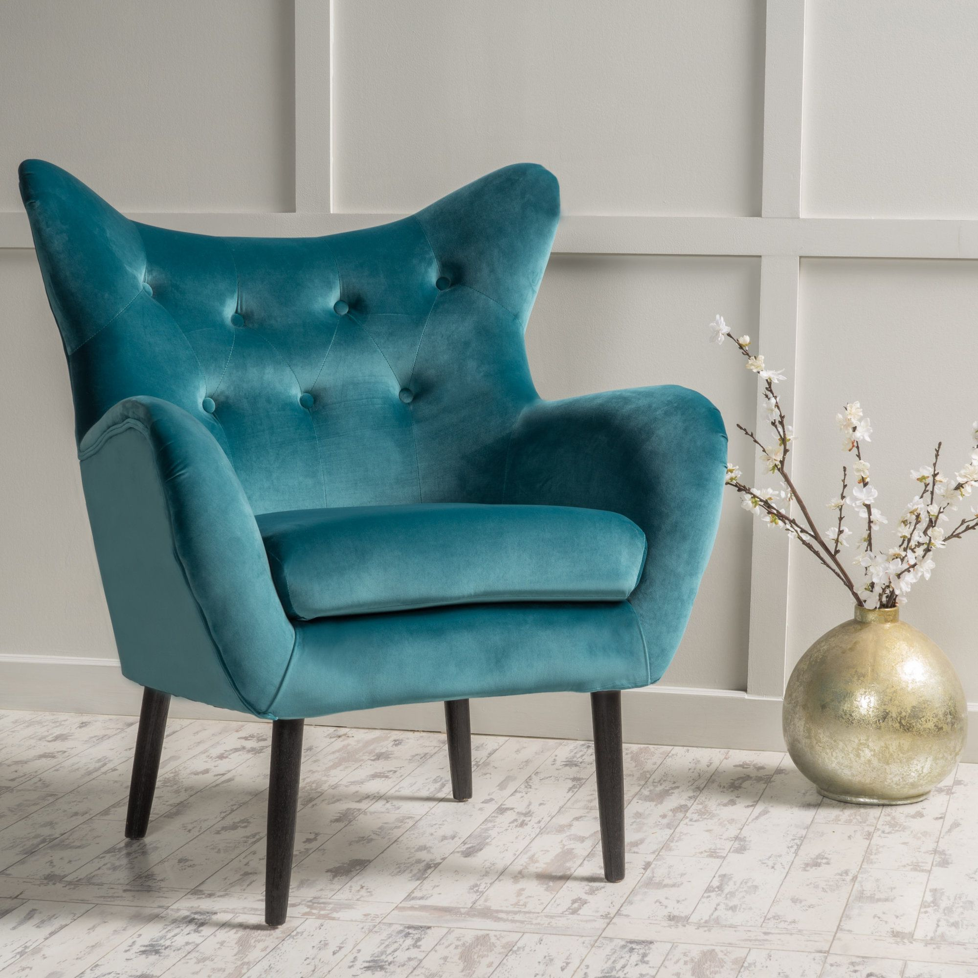 Living Room Chairs, Living Room Throughout Most Recent Bouck Wingback Chairs (View 11 of 20)