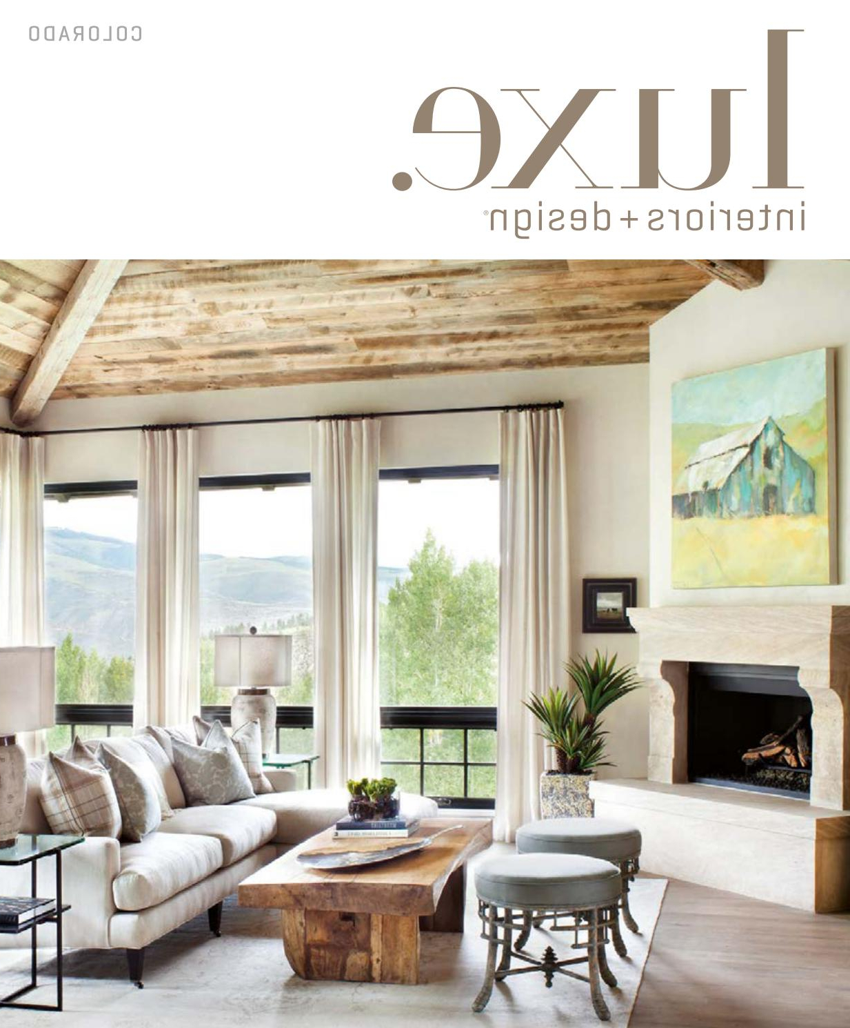 Luxe Magazine July/august 2017 Coloradosandow® – Issuu With Regard To Newest Waterton Wingback Chairs (View 18 of 20)