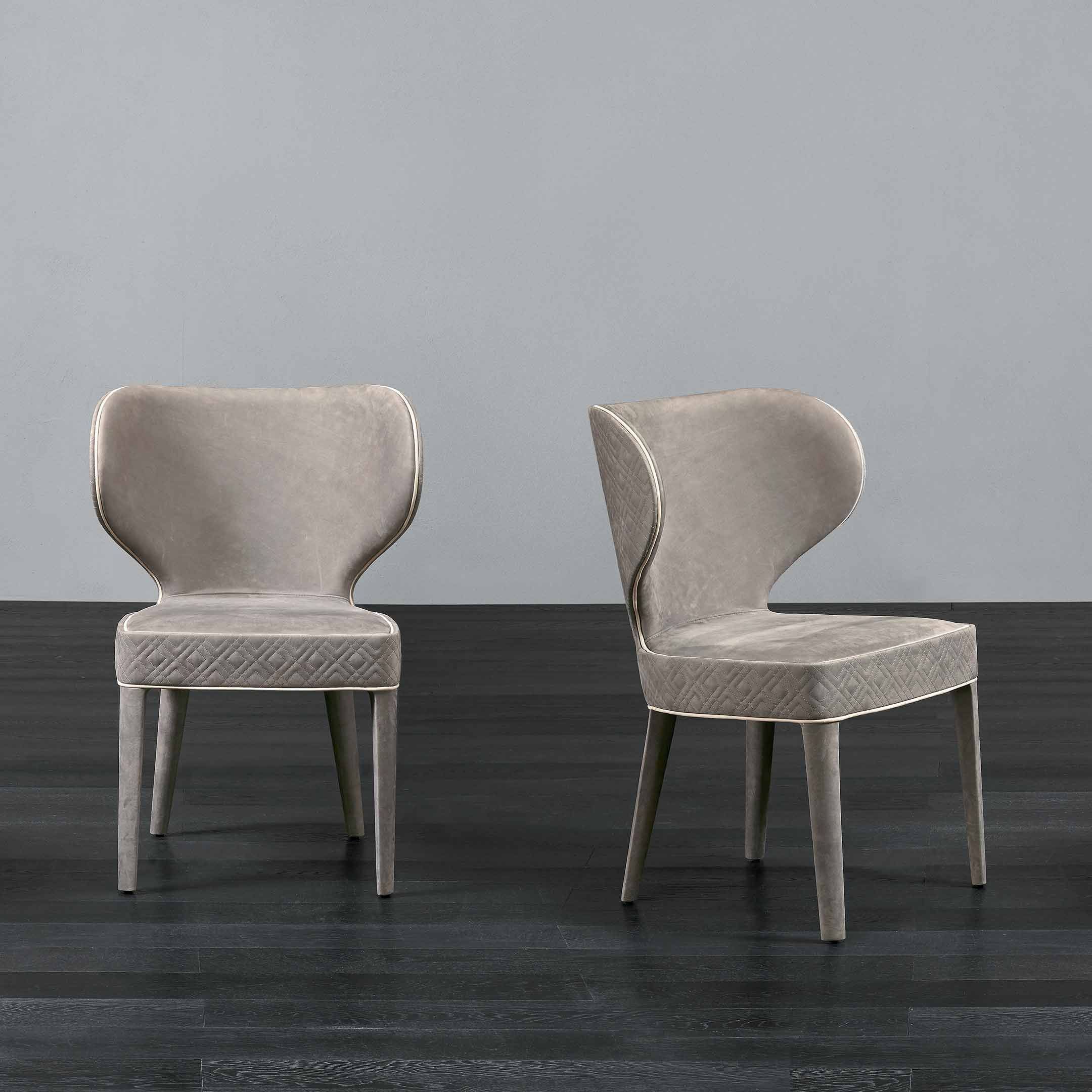 Luxury Furniture, Furniture, Dining Chairs With Regard To Aime Upholstered Parsons Chairs In Beige (View 12 of 20)