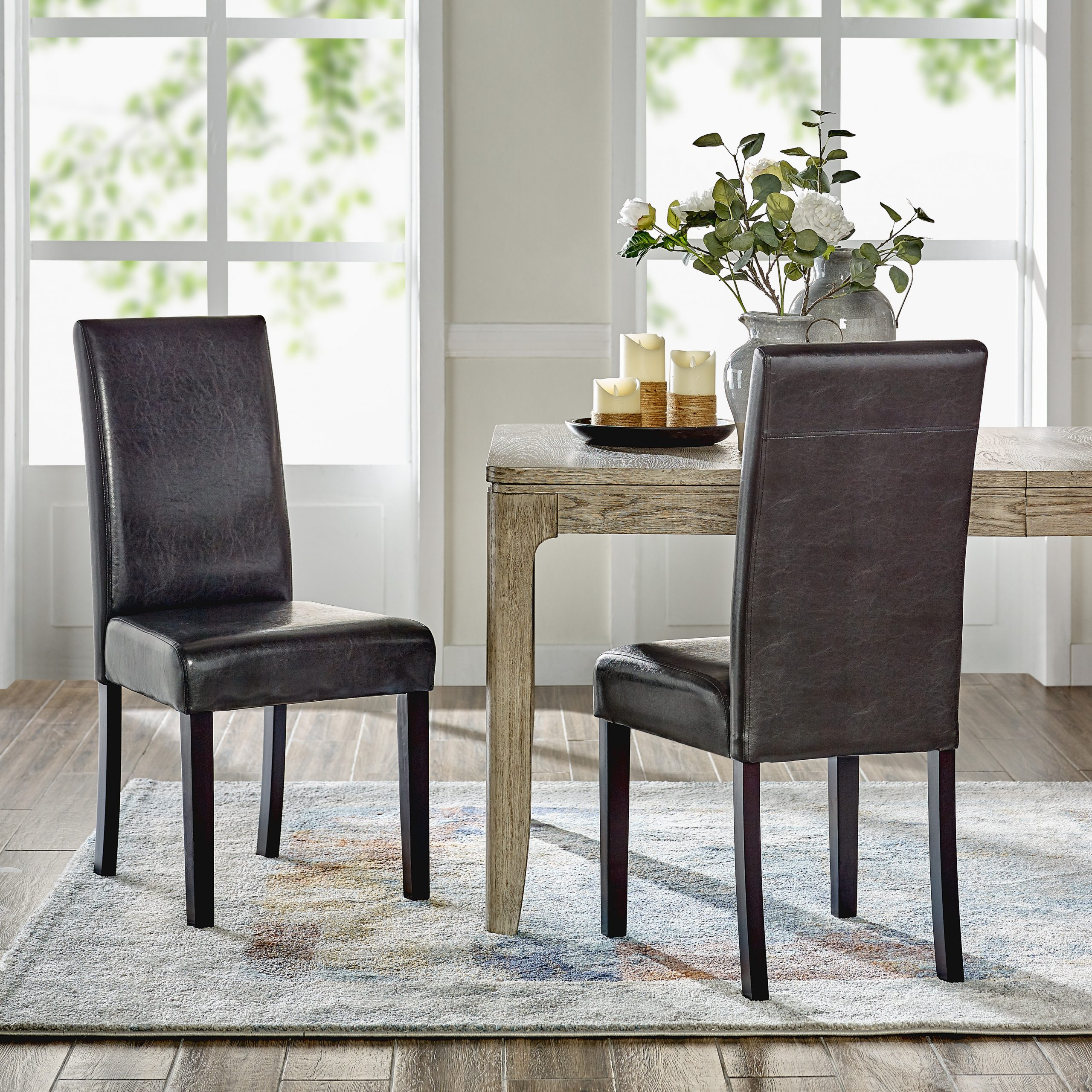 Madison Avenue Tufted Cotton Upholstered Dining Chairs (set Of 2) Within Well Known Kitchen & Dining Chairs You'll Love In (View 12 of 20)