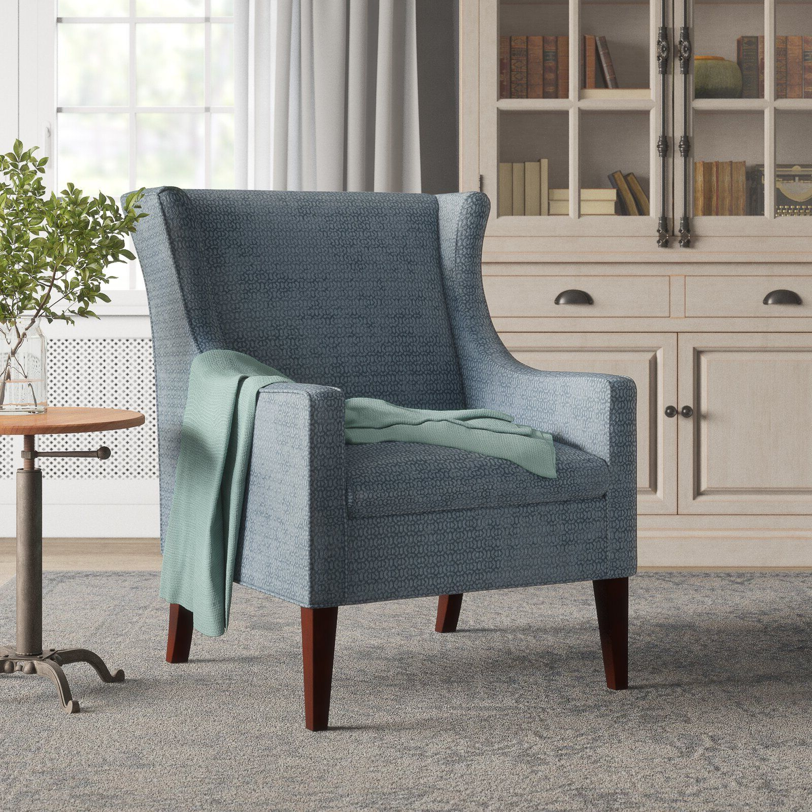 Matherville Wingback Chair $315 – Birch Lane In 2020 Within Fashionable Chagnon Wingback Chairs (View 11 of 20)