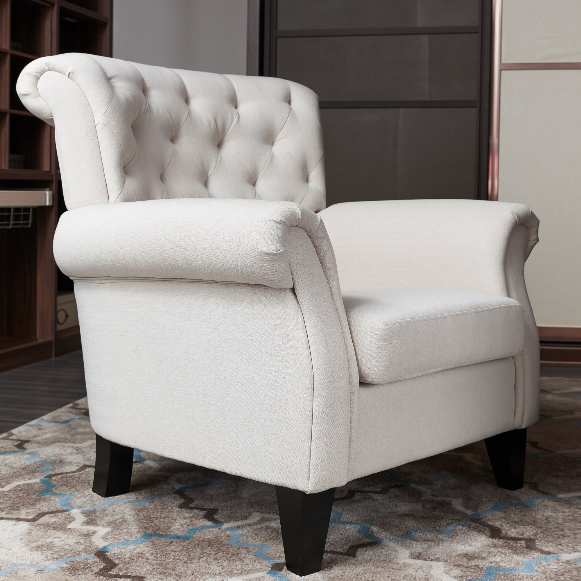Mathis Wingback Chair Throughout Best And Newest Andover Wingback Chairs (View 18 of 20)