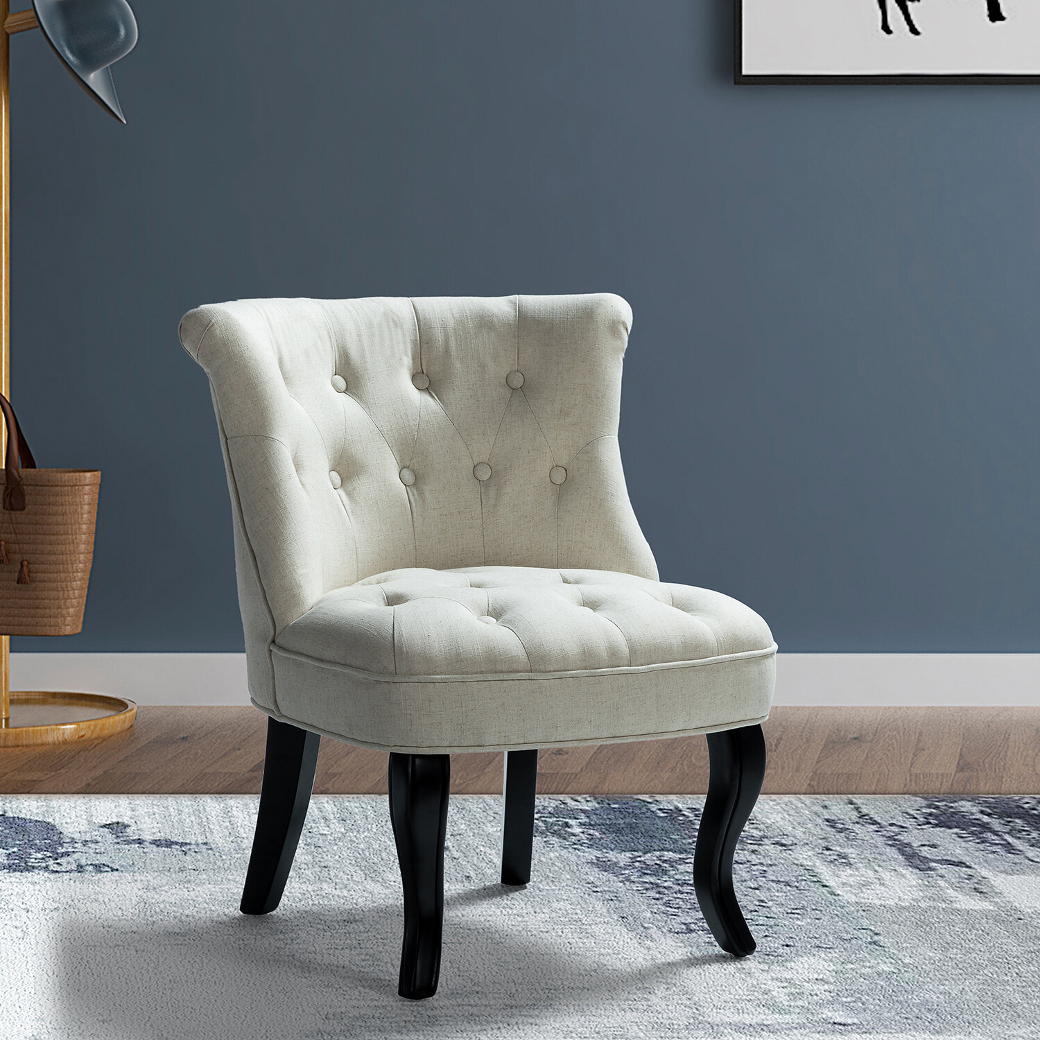 Maubara Tufted Wingback Chairs For Most Popular Maubara Lewisville Wingback Chair (View 3 of 20)