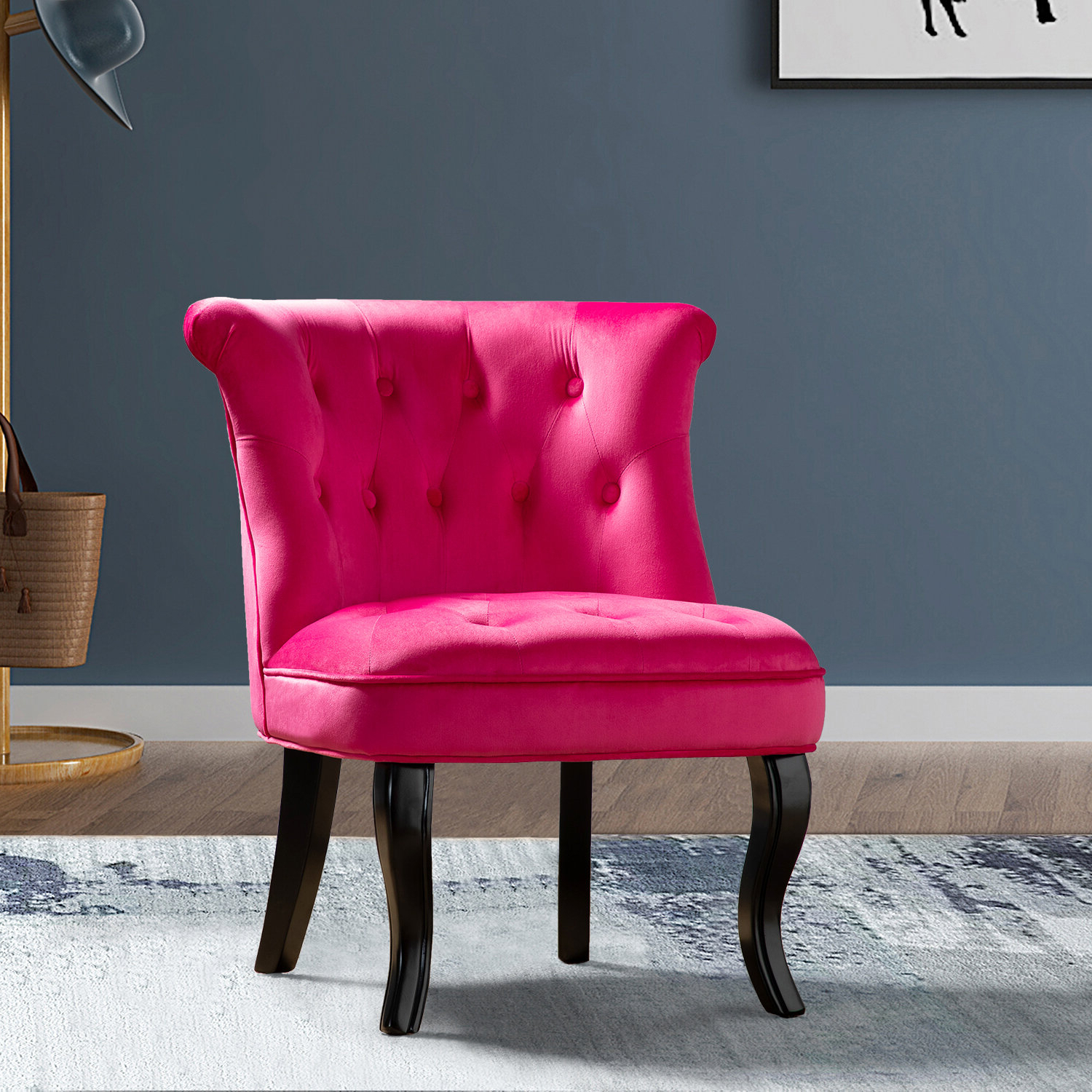 Maubara Tufted Wingback Chairs For Well Known Maubara Lewisville Wingback Chair (View 9 of 20)