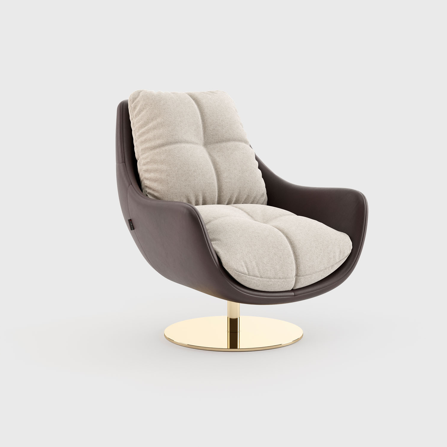 Modern Armchairs And Ottoman Throughout Most Recent Sophia Armchair With Ottoman (View 12 of 20)
