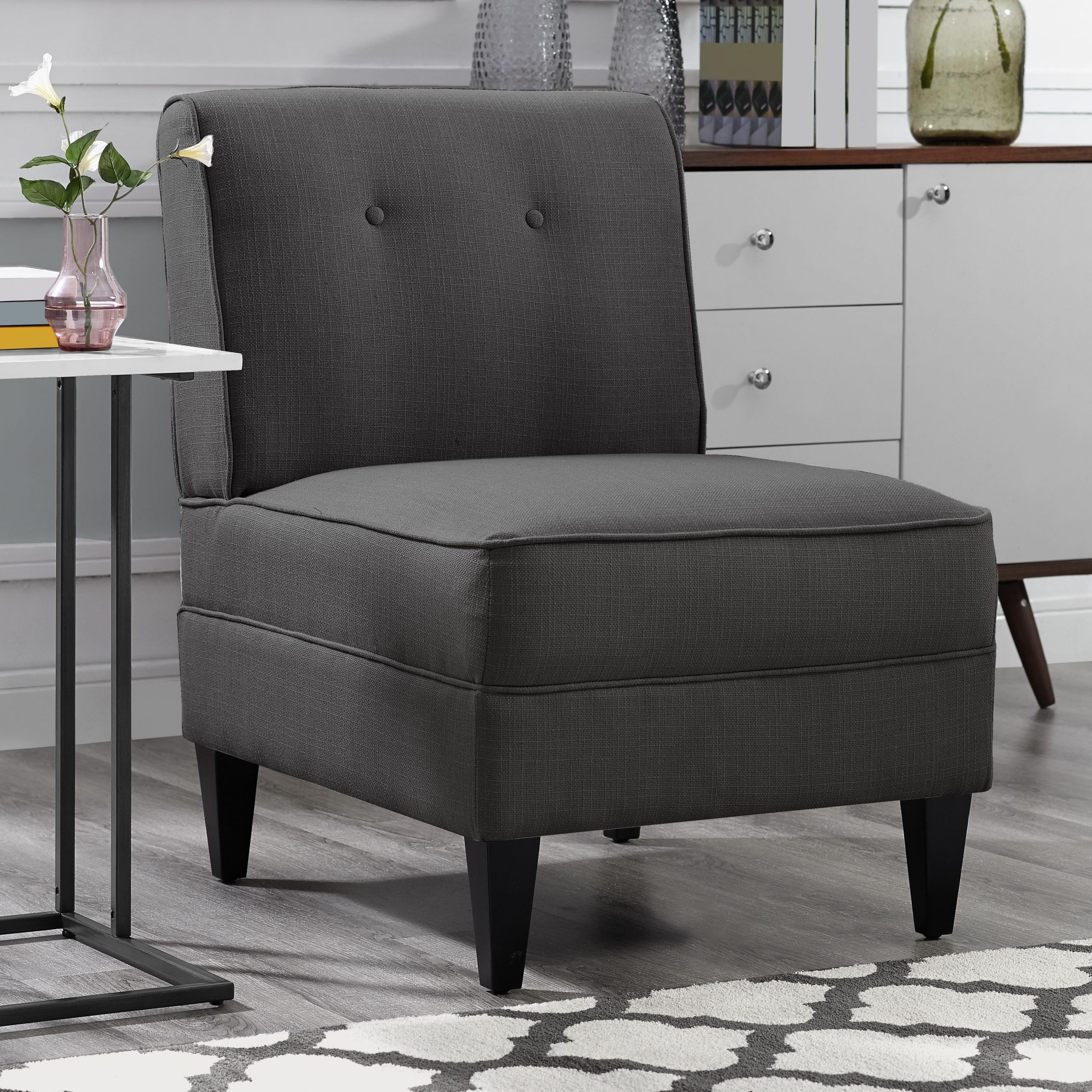 Modern & Contemporary Slipper Accent Chairs You'll Love In With Trendy Alush Accent Slipper Chairs (set Of 2) (View 2 of 20)