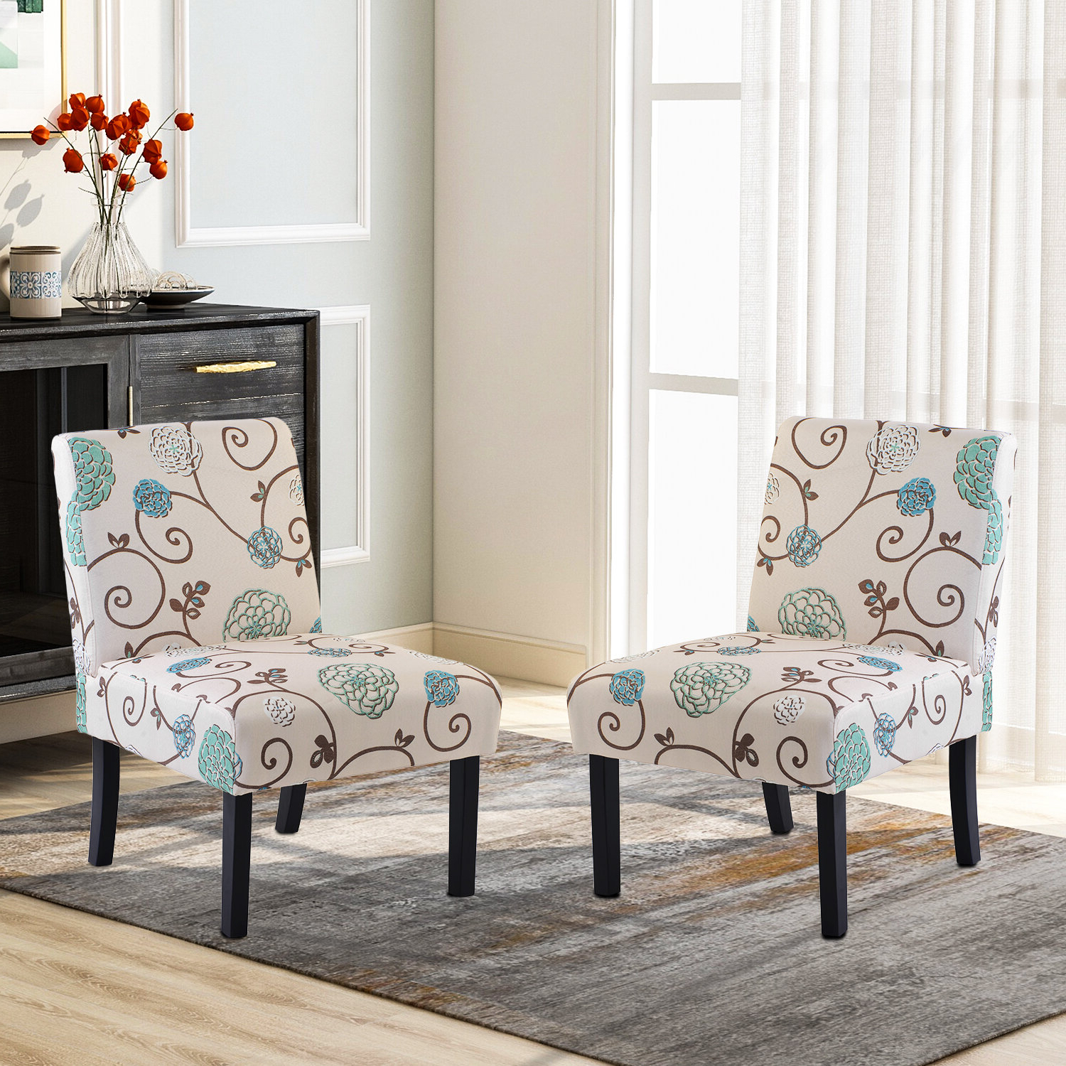 Modern & Contemporary Slipper Accent Chairs You'll Love In Within Widely Used Goodspeed Slipper Chairs (set Of 2) (View 5 of 20)