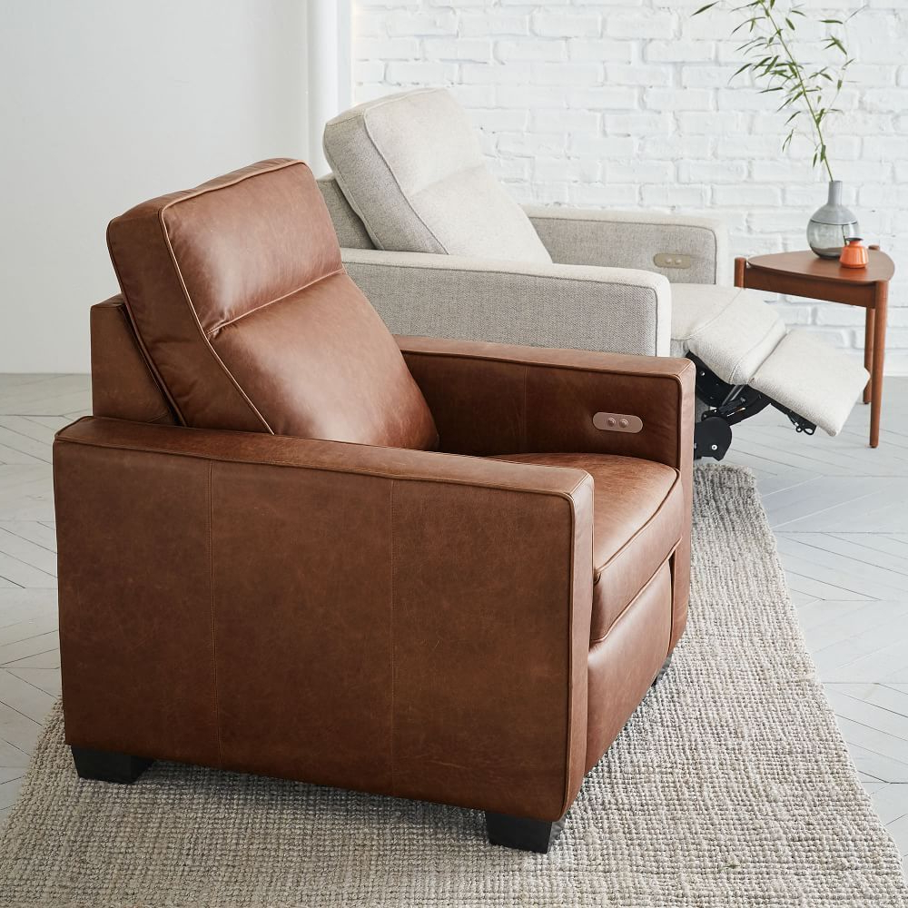 Modern Recliner, Leather Chair (View 14 of 20)