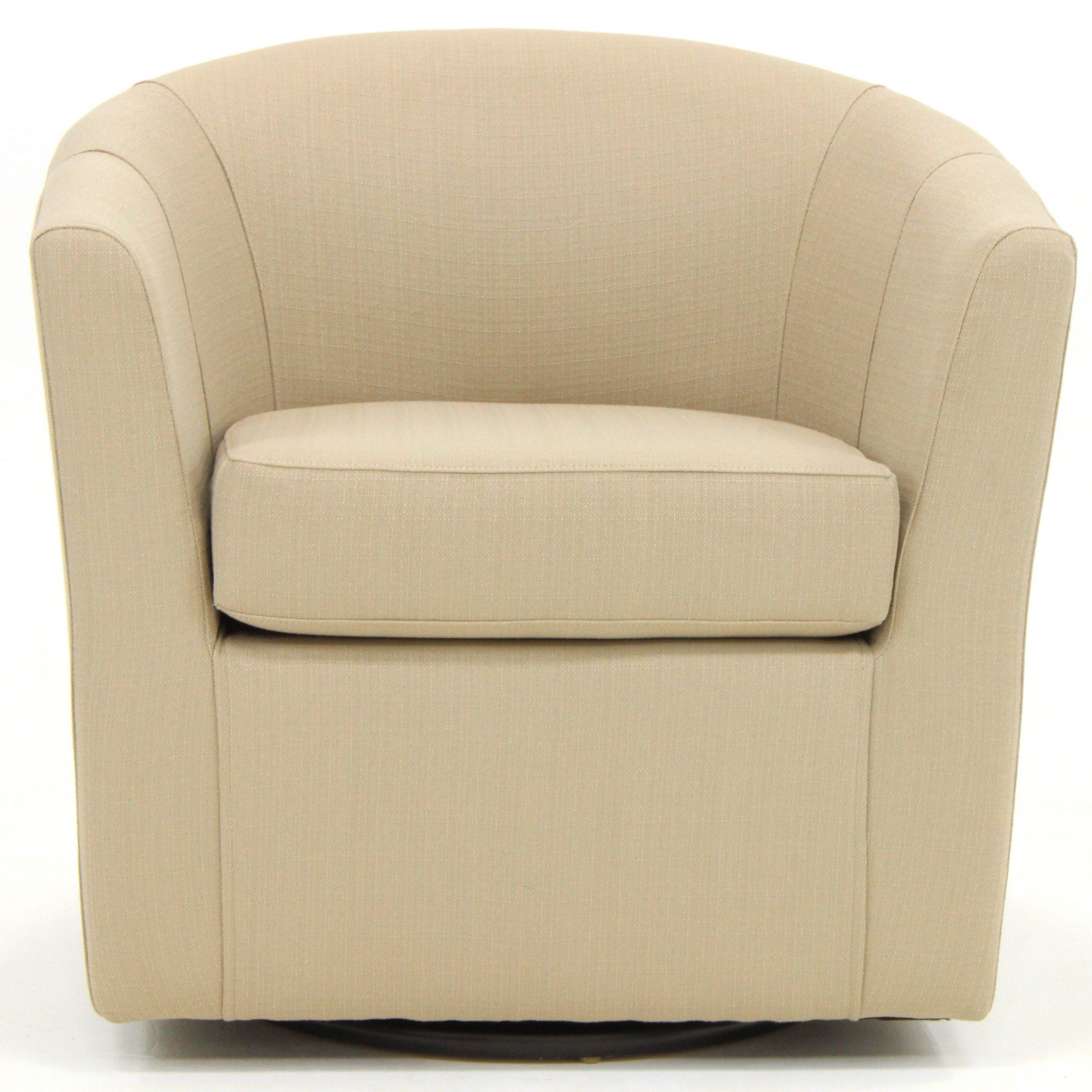 Molinari Swivel Barrel Chairs Inside Most Up To Date Molinari Swivel Barrel Chair (View 5 of 20)