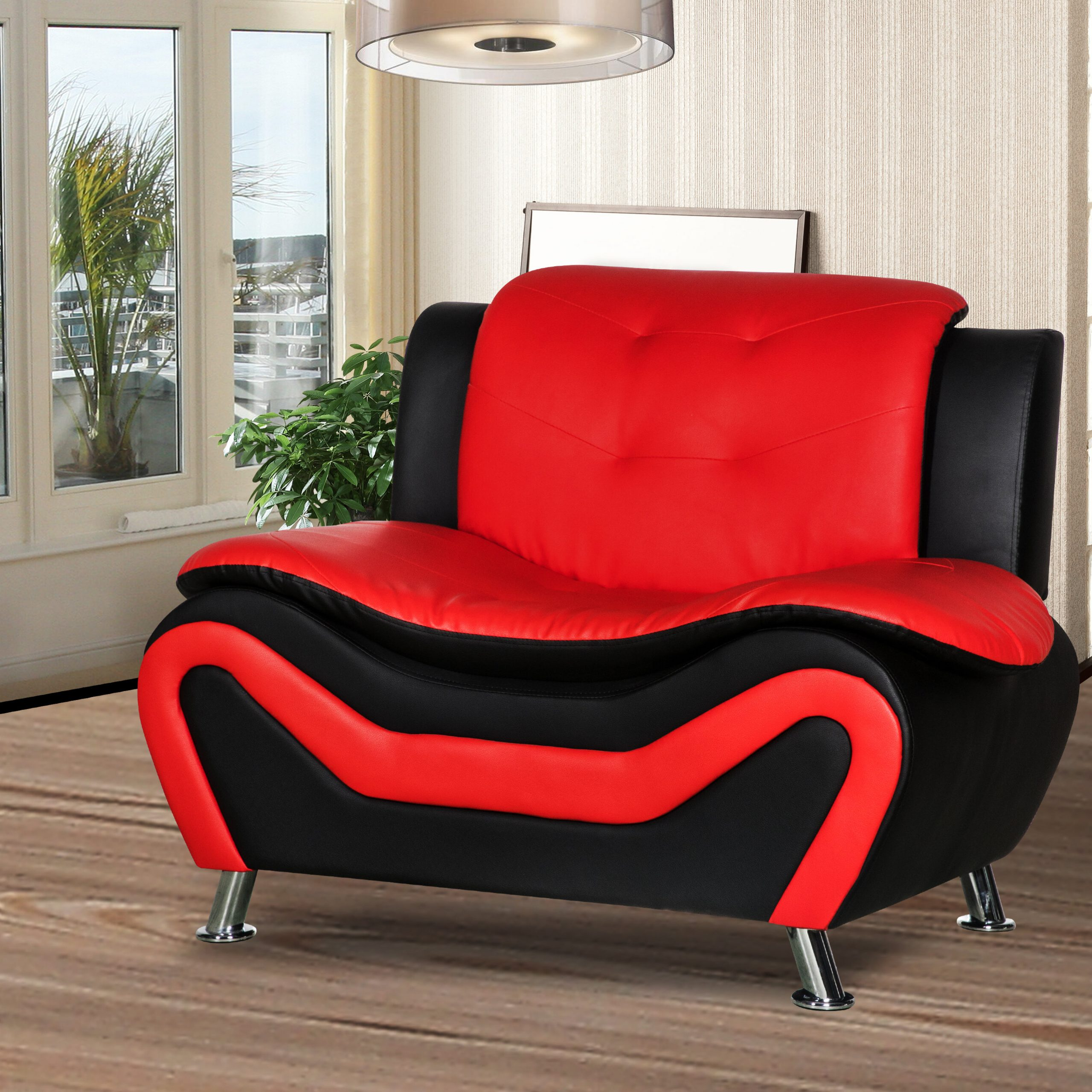 Montenegro Faux Leather Club Chairs For Preferred Montenegro Living Room Club Chair (View 2 of 20)