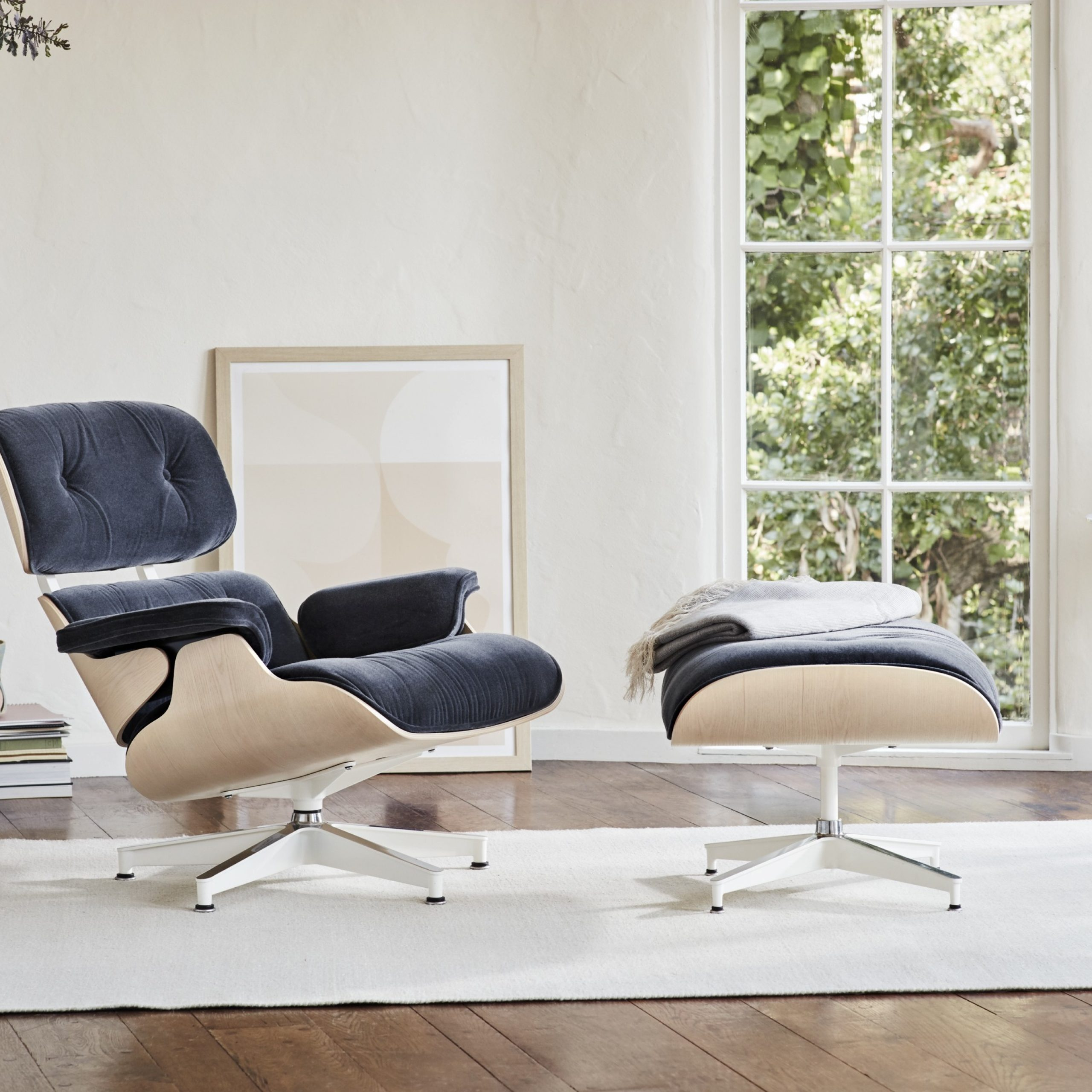 Most Current Armory Fabric Armchairs In Eames Lounge Chair (View 8 of 20)