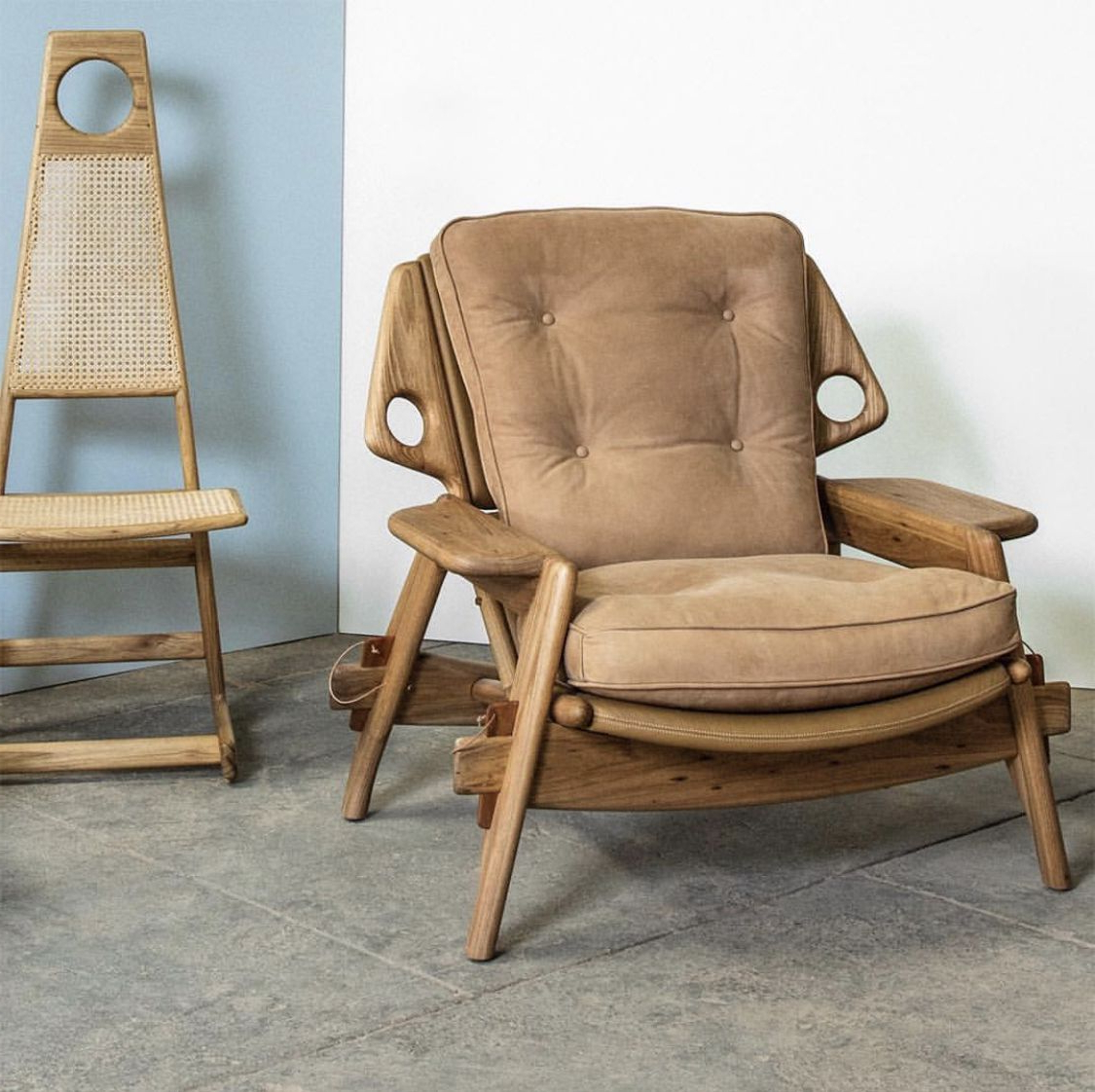 Most Current Benjamin Lounge Armchair And Menna Dining Chairsergio Inside Pitts Armchairs (View 7 of 20)