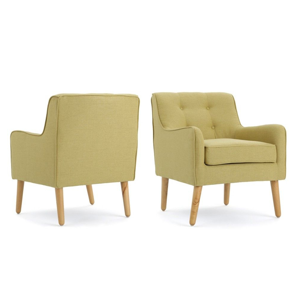 Most Current Boyden Armchairs Pertaining To Set Of 2 Felicity Mid Century Arm Chair Wasabi – Christopher (View 8 of 20)