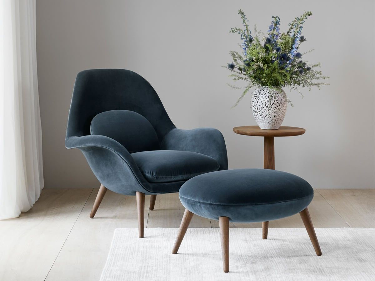 Most Current Designedspace Copenhagen For Fredericia, The Swoon With Regard To Barnard Polyester Barrel Chairs (View 13 of 20)
