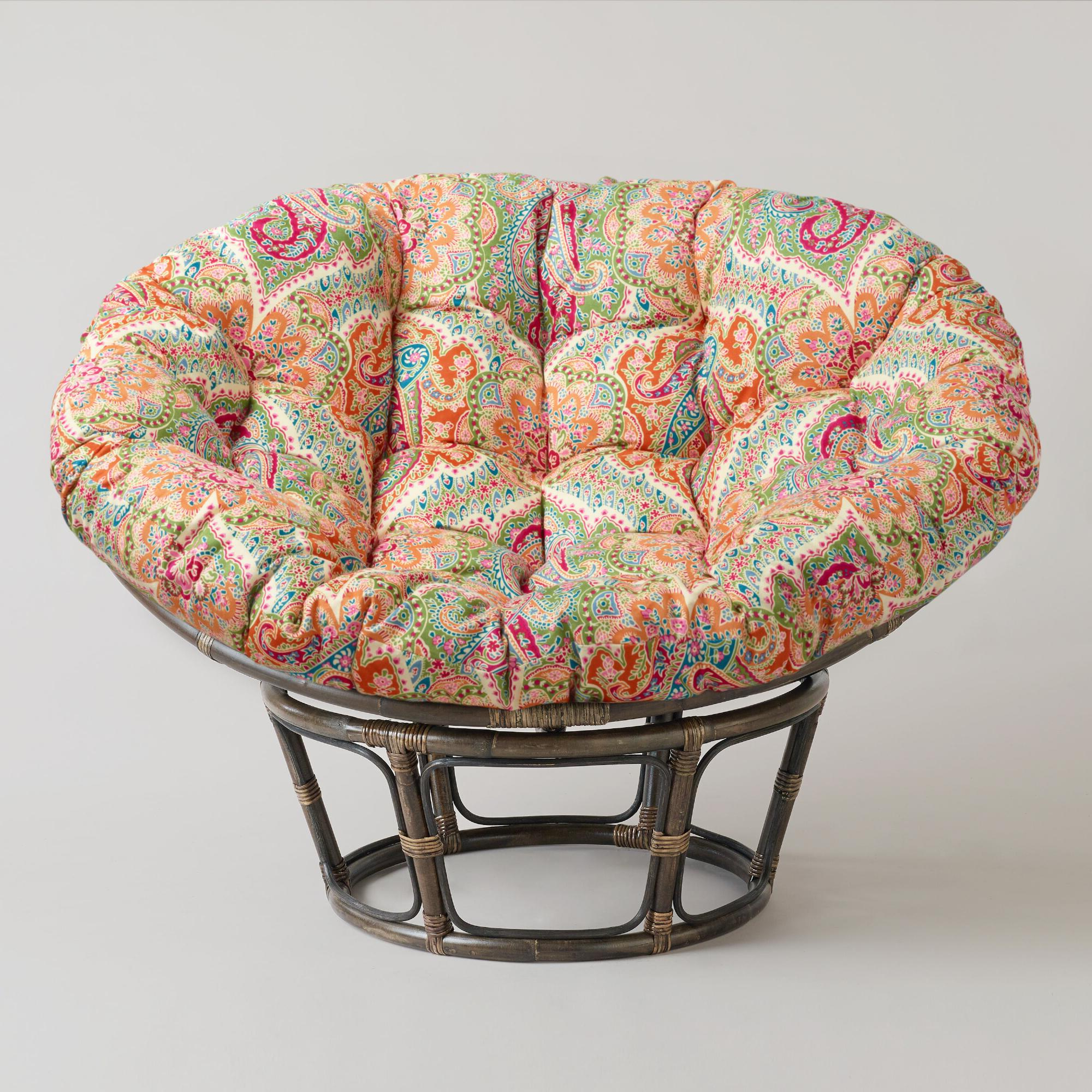Most Current Fuzzy Papasan Cushion Cover Pertaining To Orndorff Tufted Papasan Chairs (View 20 of 20)